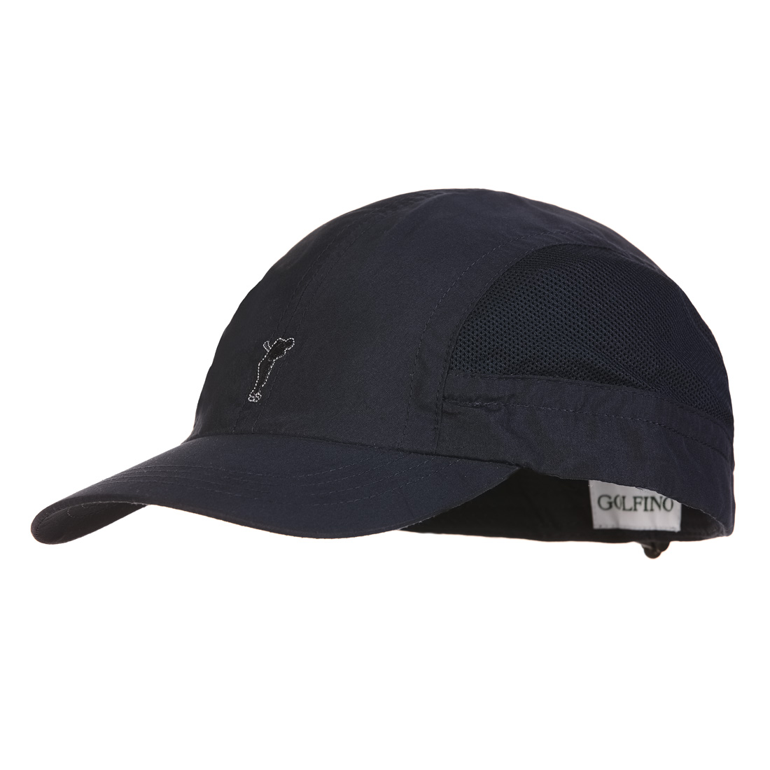 c5432561758 GOLFINO Men s microfibre golf cap with large mesh inserts shop online