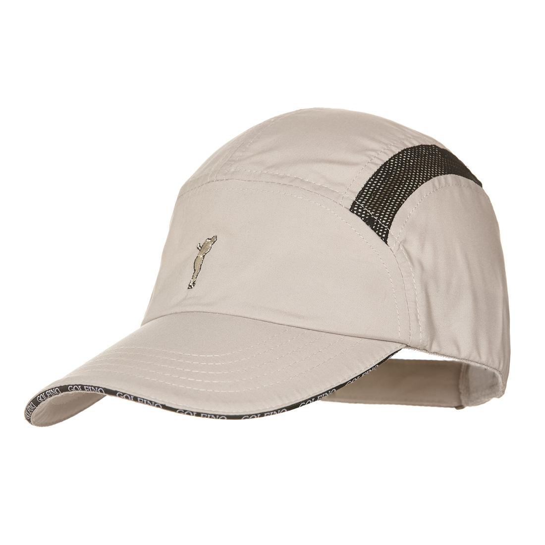 Herren Golfcap aus Mikrofaser mit seitlichen Mesheinsätzen