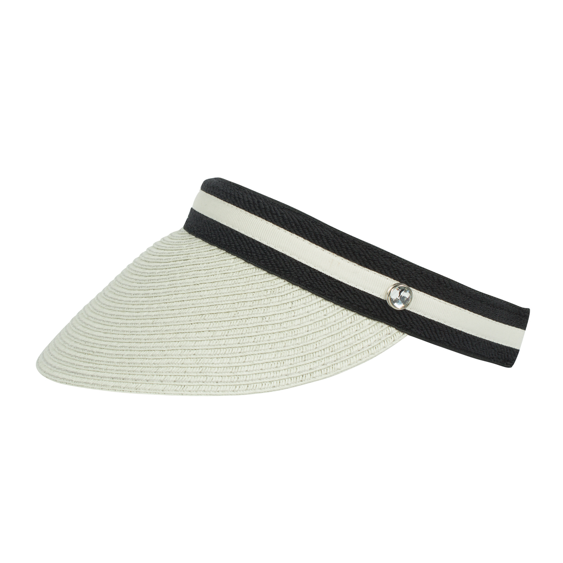 Elegant ladies' golf visor