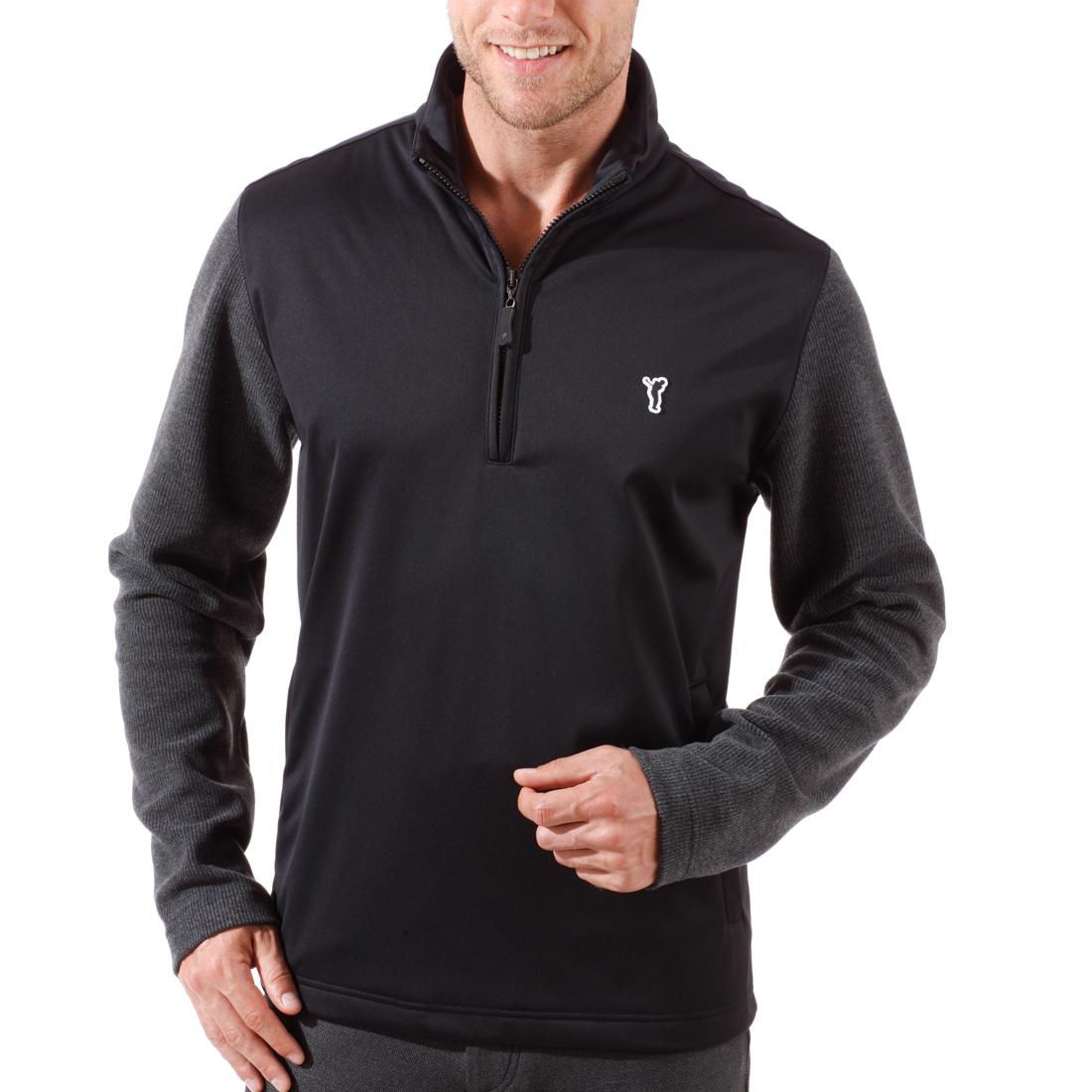 Windabweisender Golf Pullover