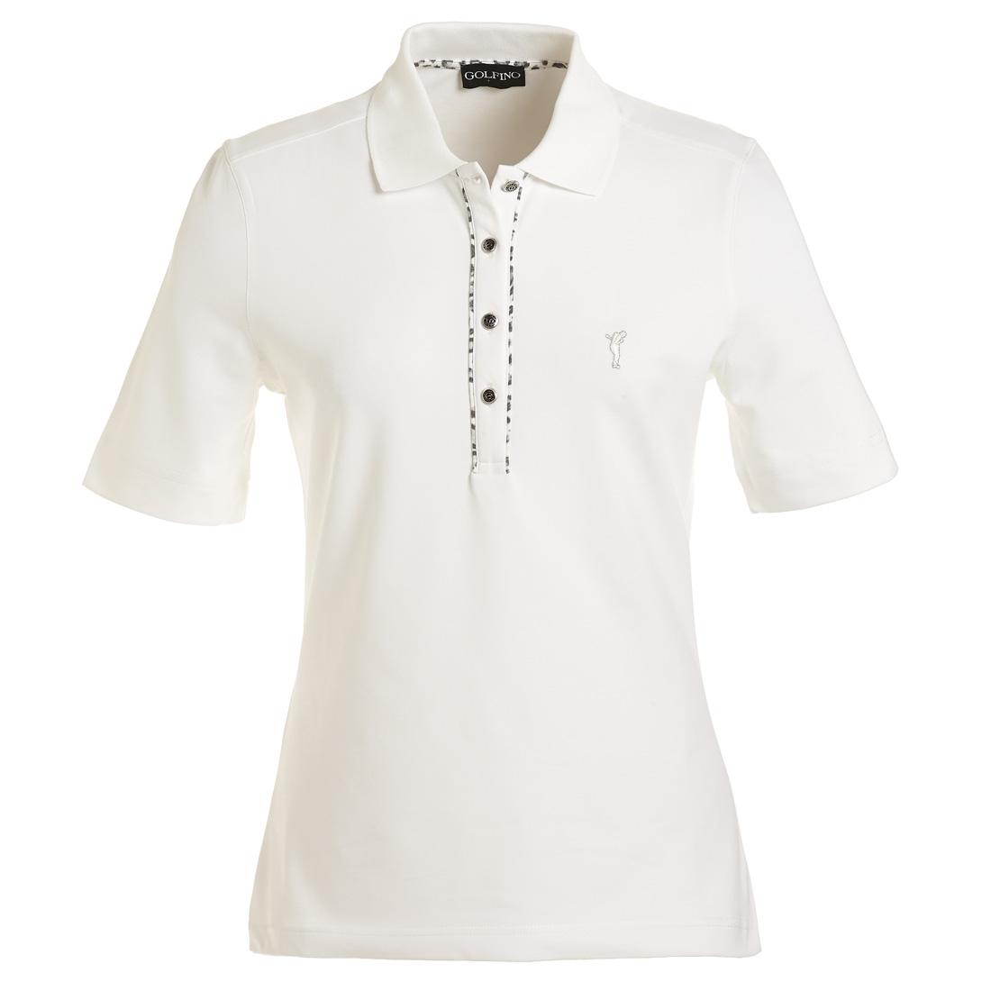 Kurzarm Poloshirt mit UV-Schutz