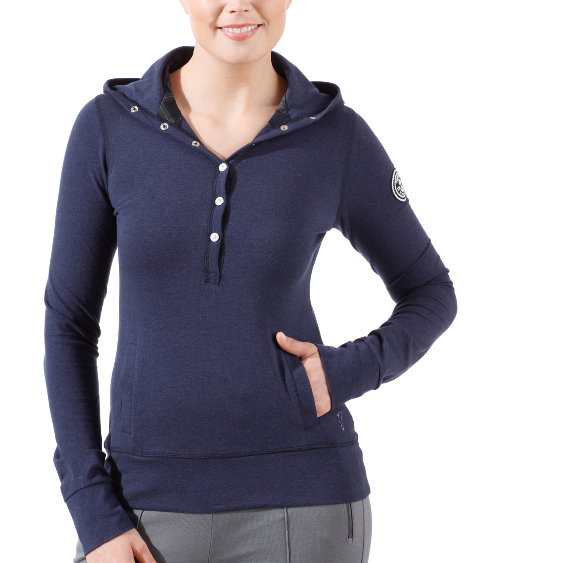Kapuzen Jersey Sweatshirt