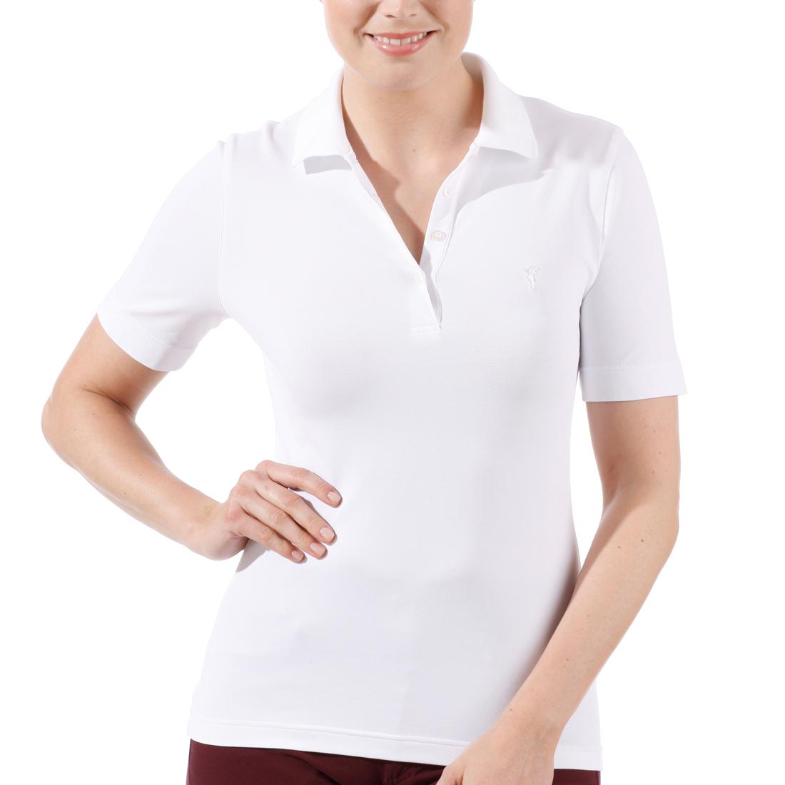 Kurzarm Pikee Poloshirt mit UV-Schutz