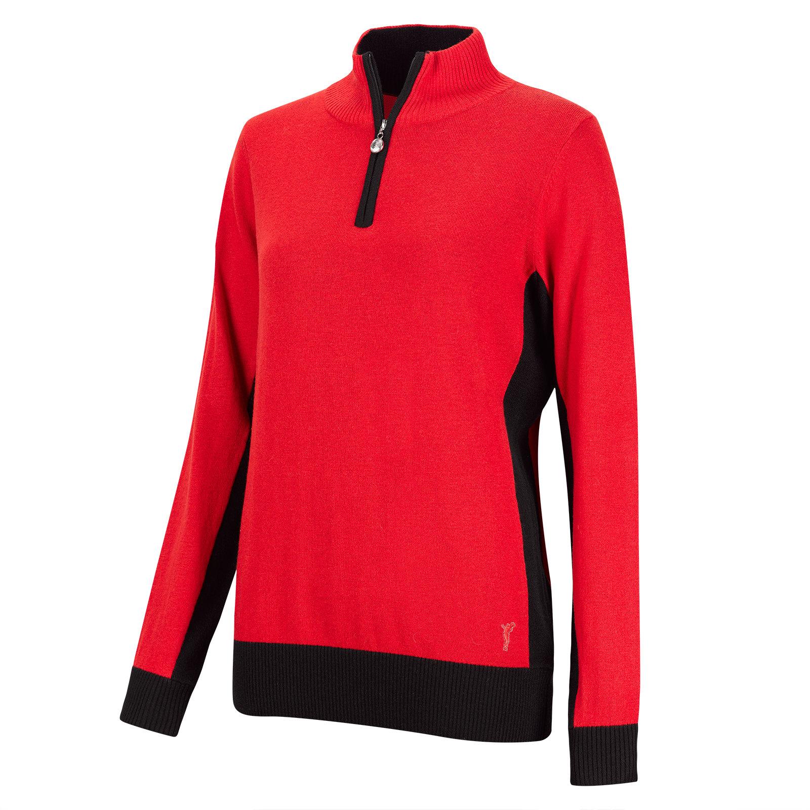 Damen Cold Protection Troyer aus edler Merino-Blend
