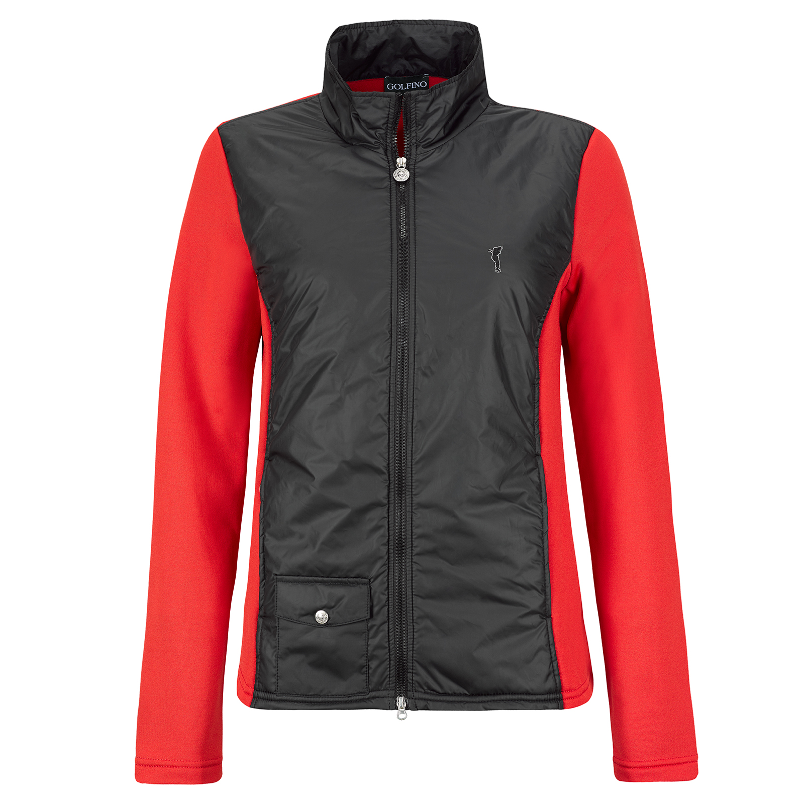 Damen Micro Stretch Polarlight Funktions-Golfjacke mit Fleece Futter
