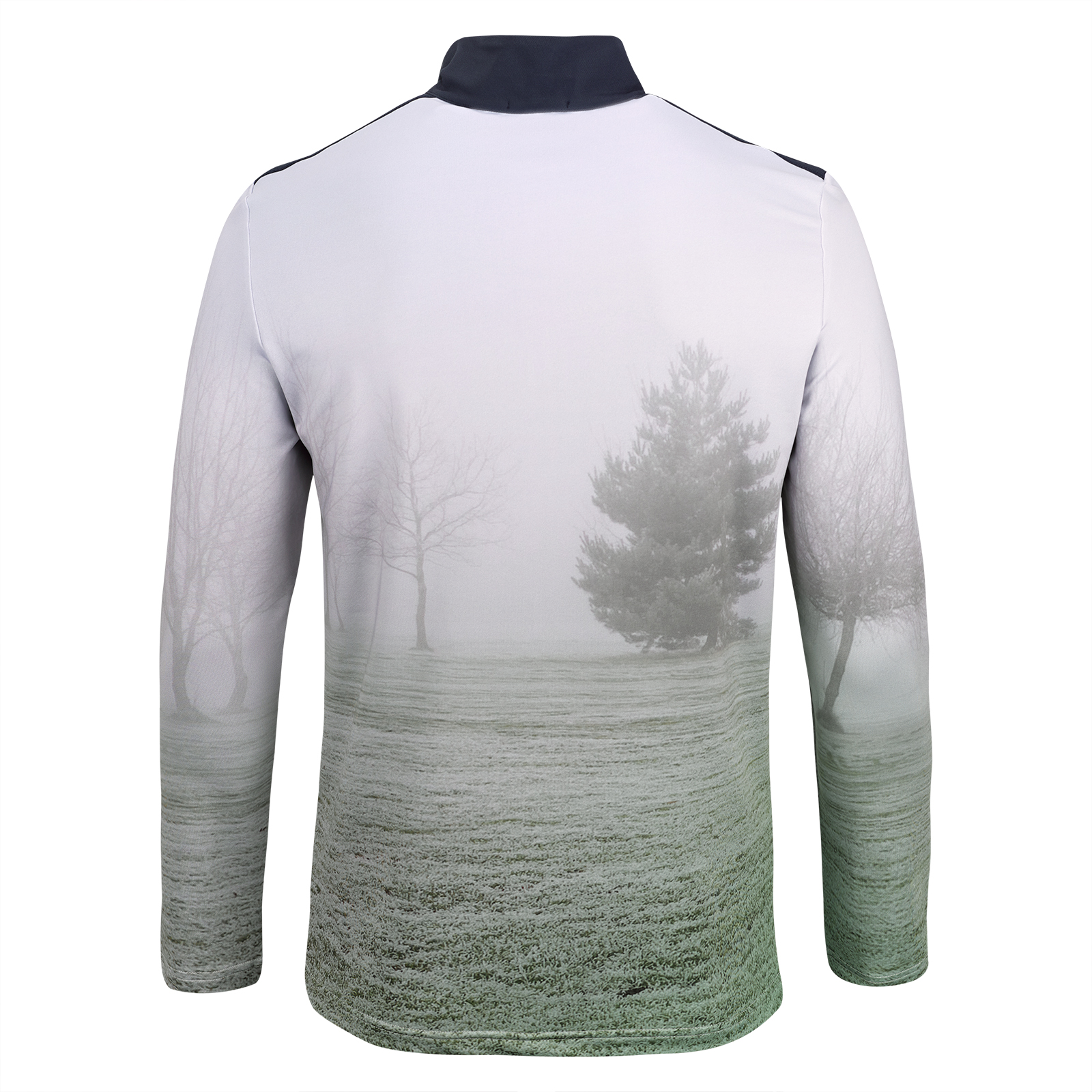 Herren Golf Funktionstroyer mit Moisture Management und modischem Allover-Print