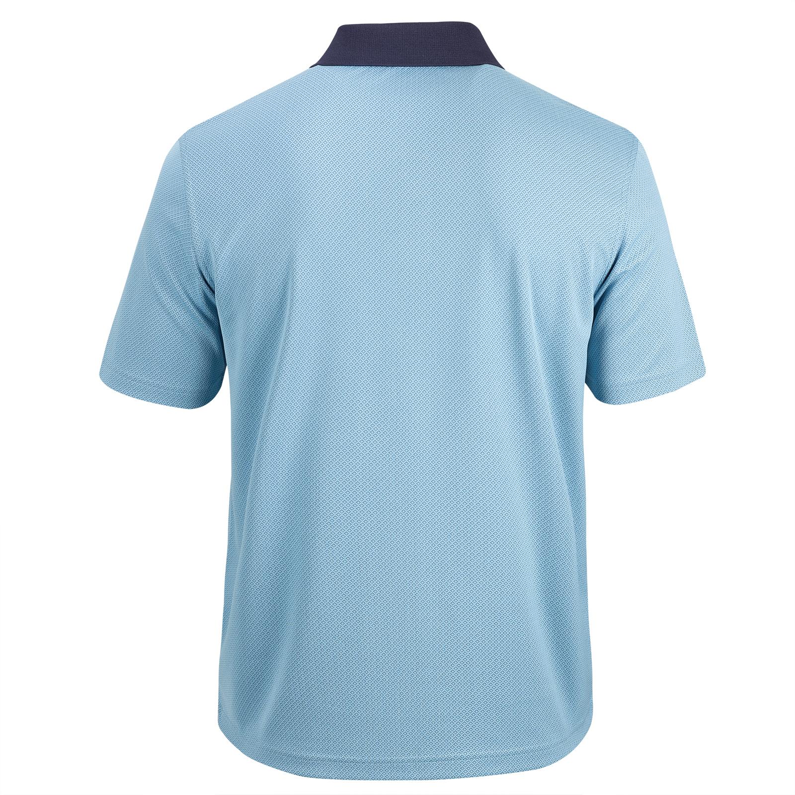 Herren Kurzarm Stretch-Poloshirt Performance Trend Green