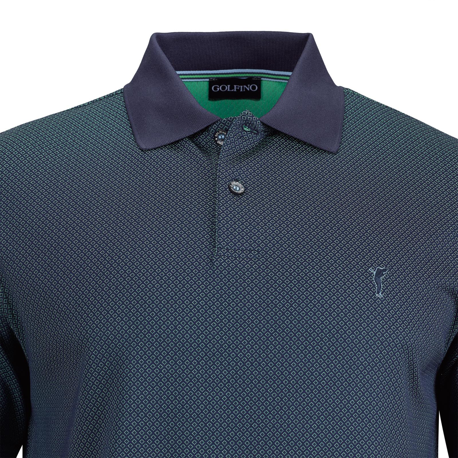 Herren Halbarm Stretch-Poloshirt Performance Trend Green