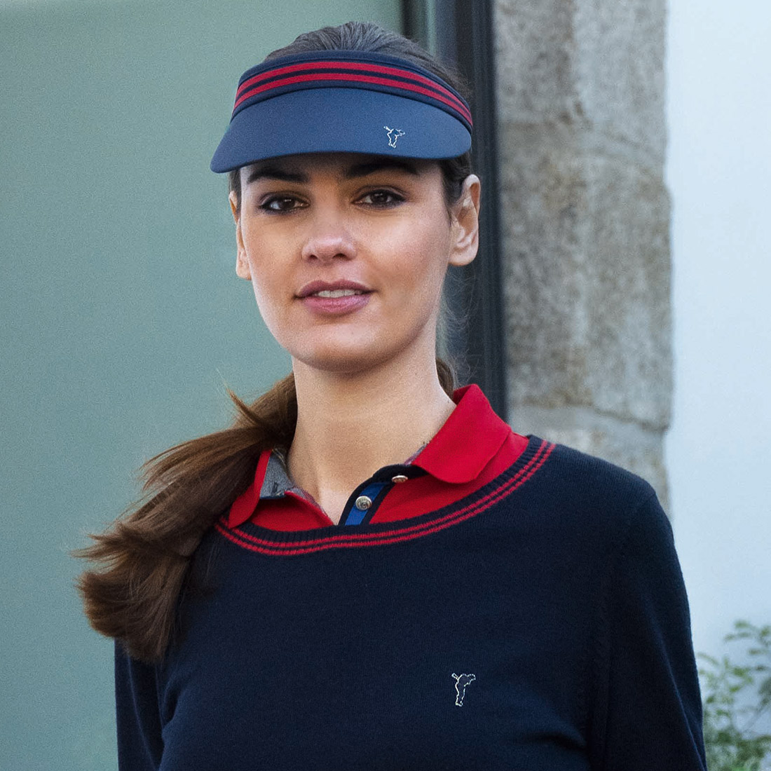 3/4-Arm Damen Funktions-Golfpolo mit Moisture Management in Slim Fit