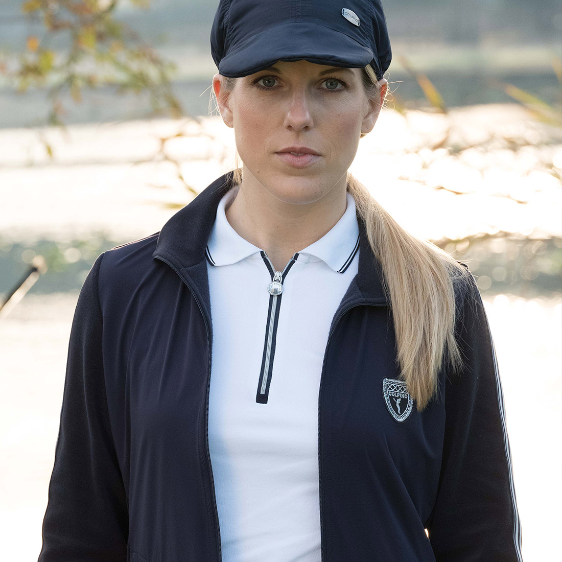 Performance Trend Damen Kurzarm Golfpolo mit Sun Protection Funktion