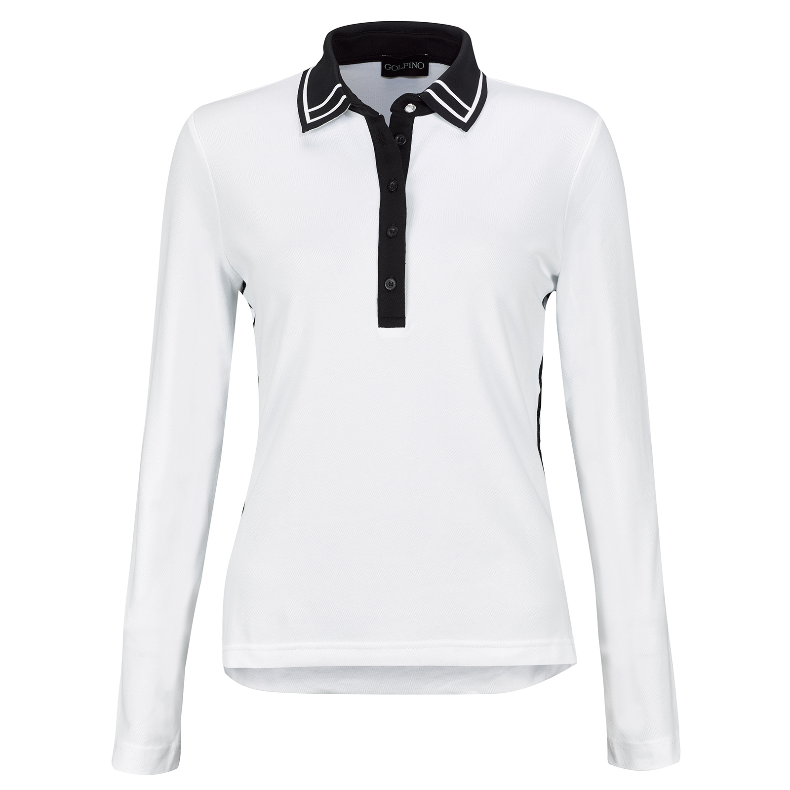 Ladies' long-sleeve functional Sun Protection golf polo