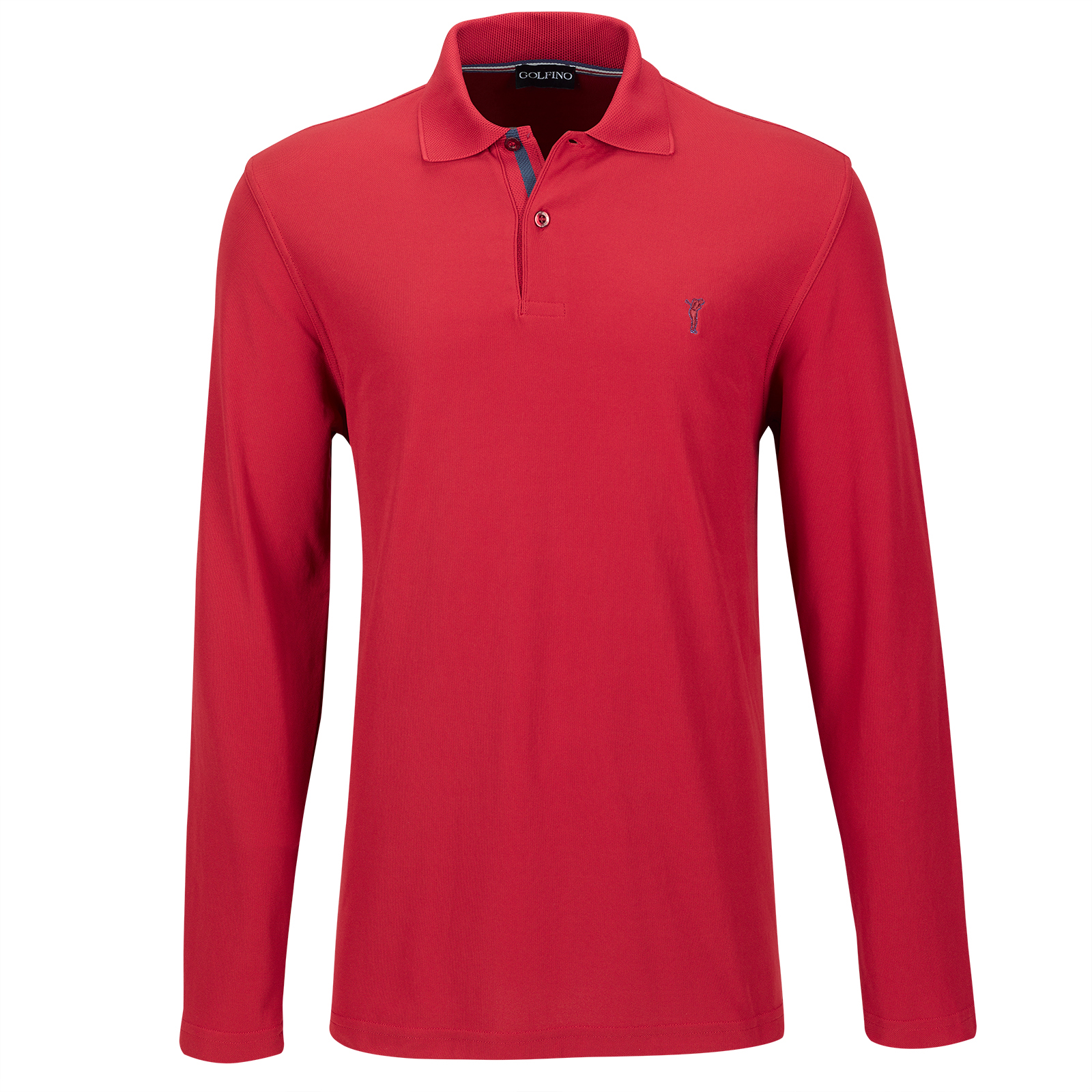 Regular Fit Herren Golfpolo mit Moisture Management Funktion