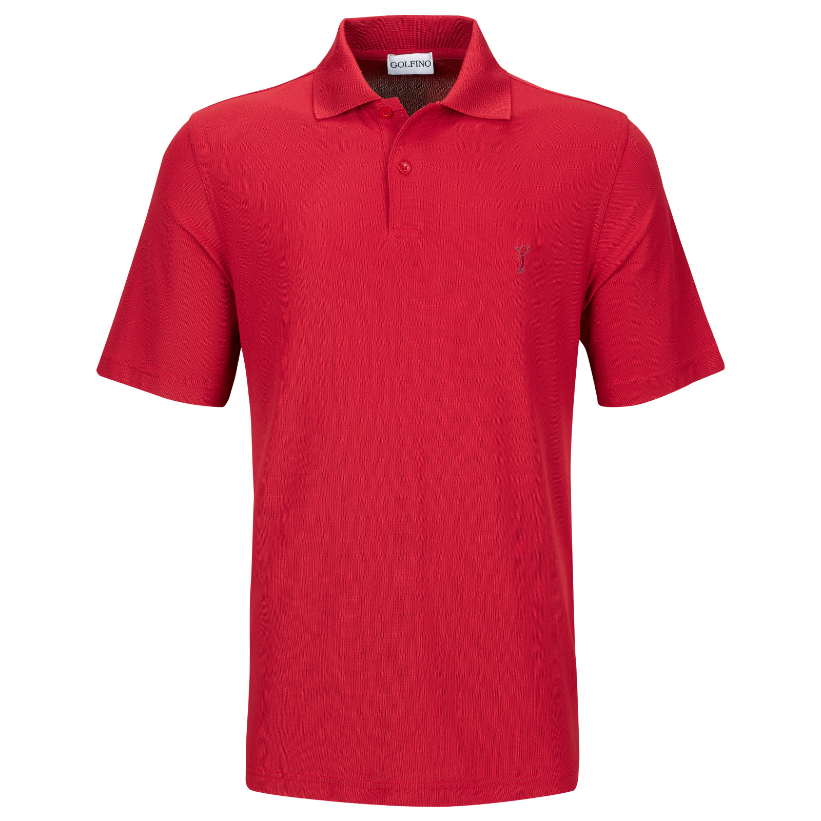 Golf Performance Wear Herren Kurzarm Polohemd mit Moisture Management