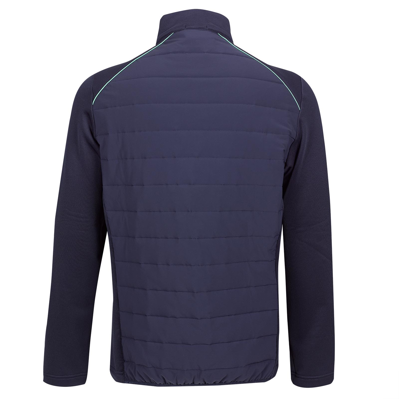 Gesteppte Performance Herren Stretch-Golfjacke Cold Protection