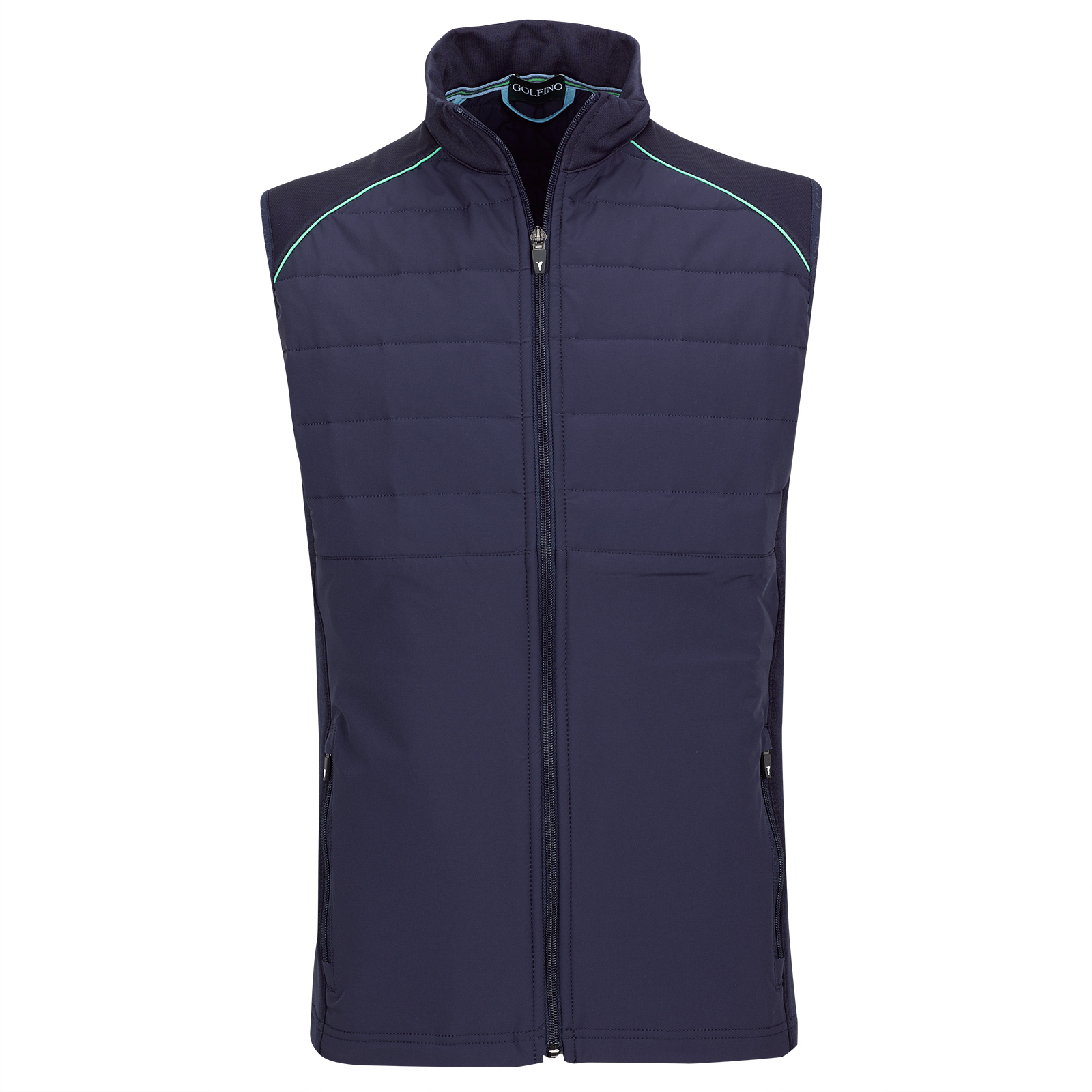 Gesteppte Performance Herren Stretch-Golfweste Cold Protection