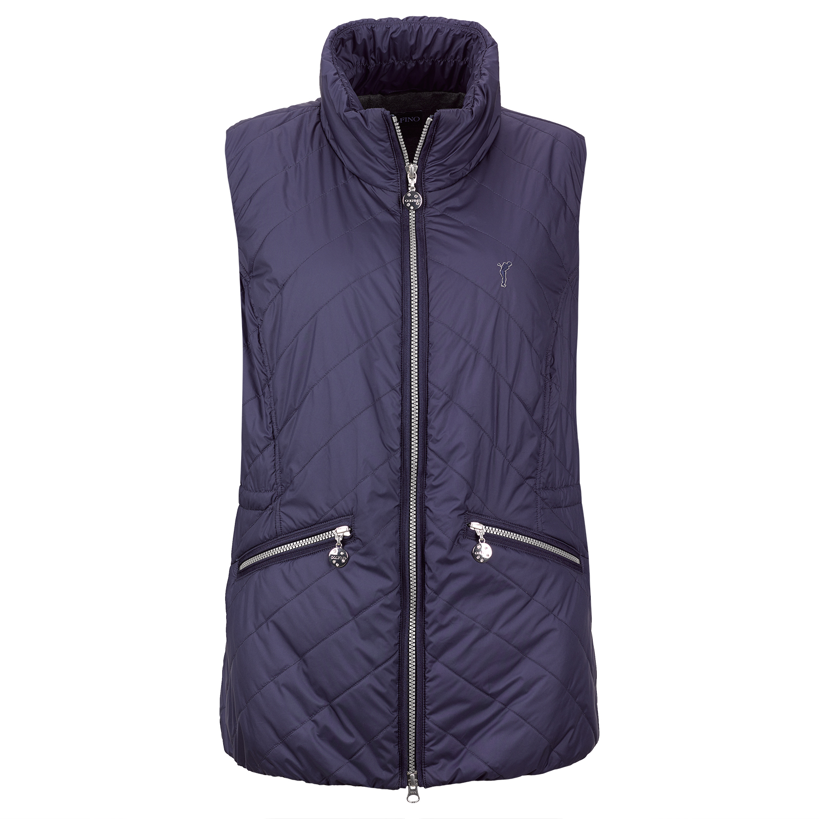 Windproof and breathable ladies' functional golf vest