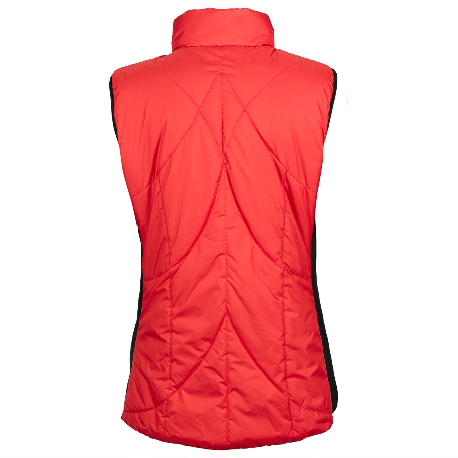 Sportliche Damen Golfweste mit Wind Protection und seitlichen Stretchelementen