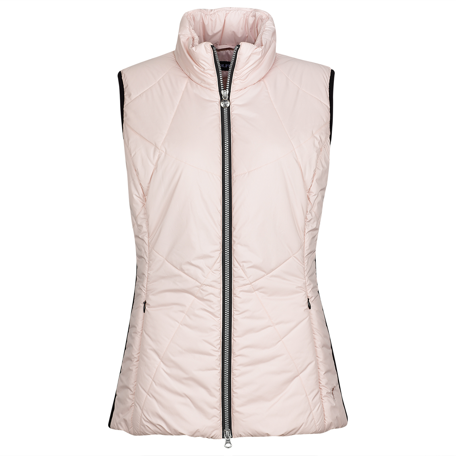 Ladies' sporty vest with Wind Protection and side stretch