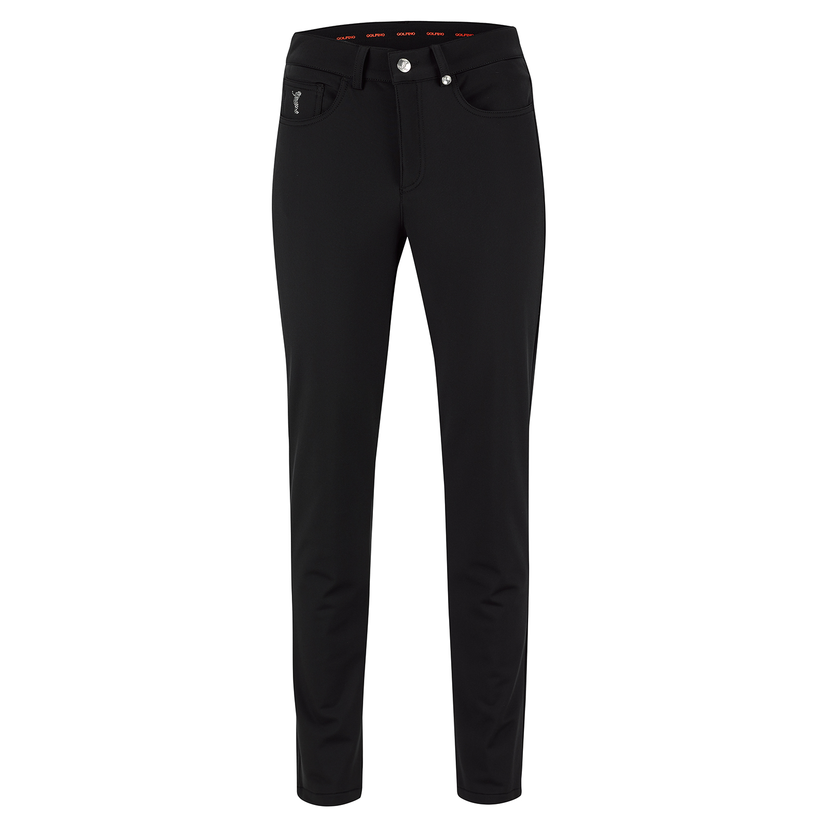 Ladies' 7/8 slim fit golf trousers with 4-way Stretch