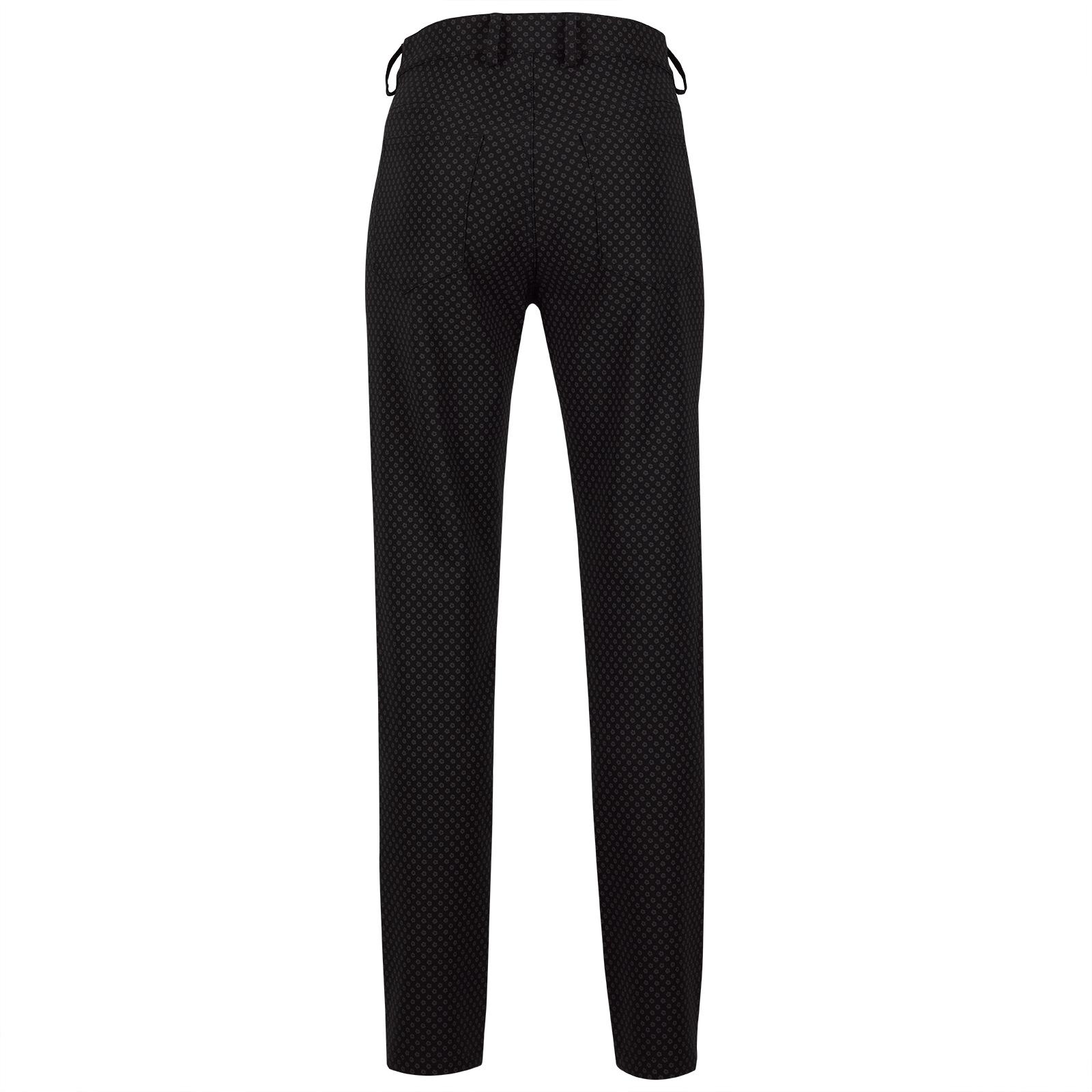 Modische 7/8 Slim-Fit Damen Golfhose aus 4-Way-Stretch mit Print