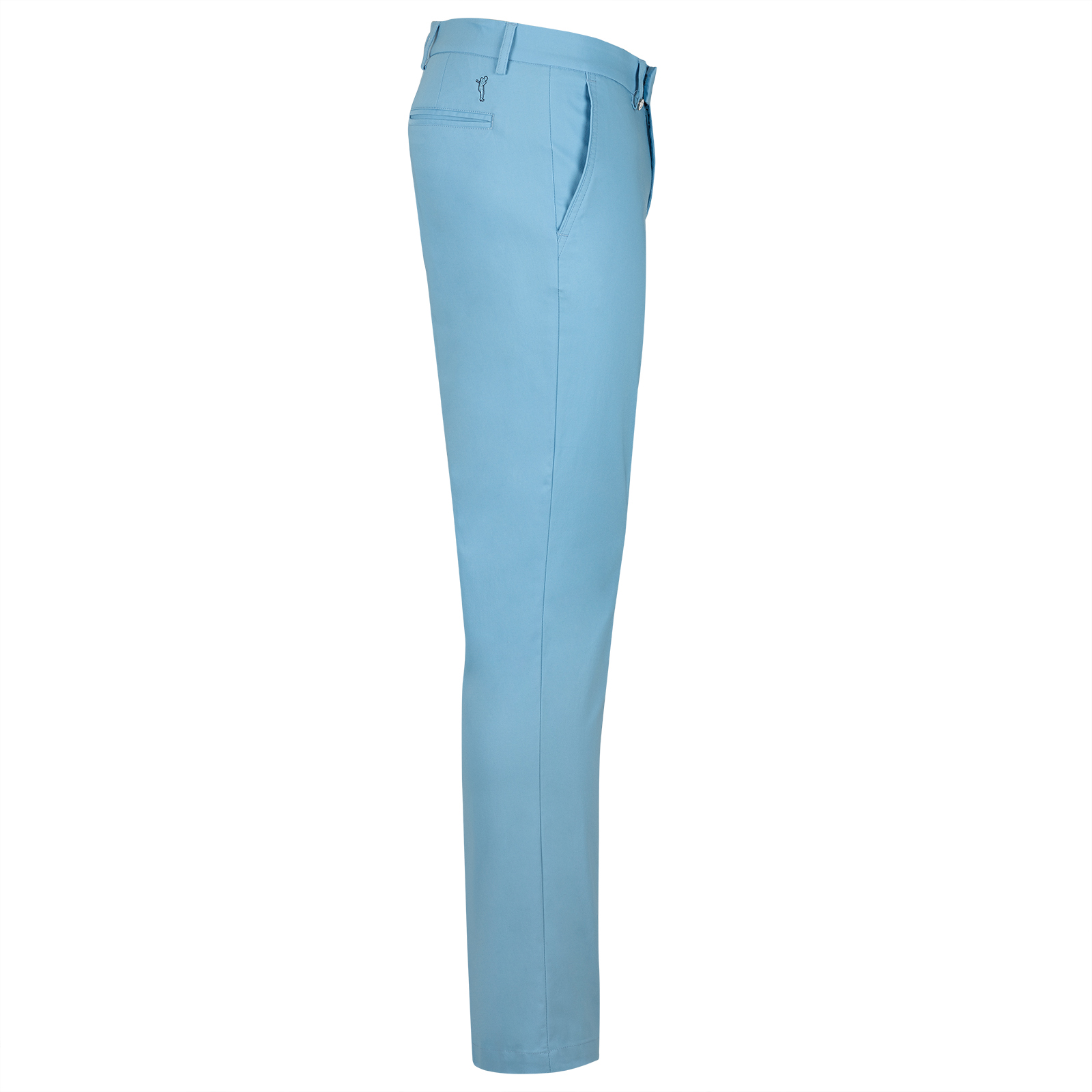 Cotton Blend Herren Funktions-Golfhose in Extra Slim mit Cold Protection