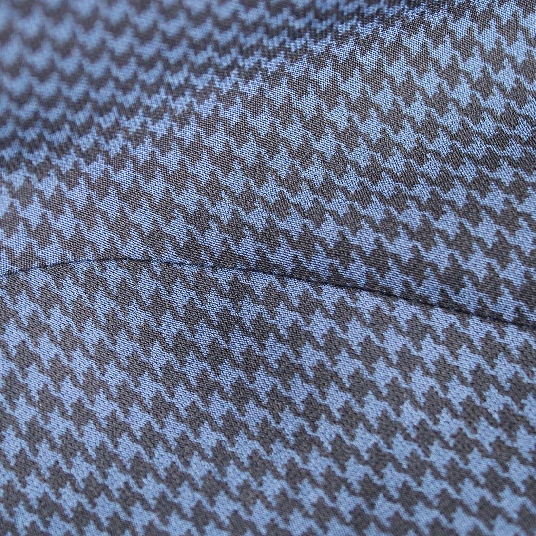 Damen 7/8 Slim Fit Stretchhose aus Funktionsmaterial mit stylischem Print