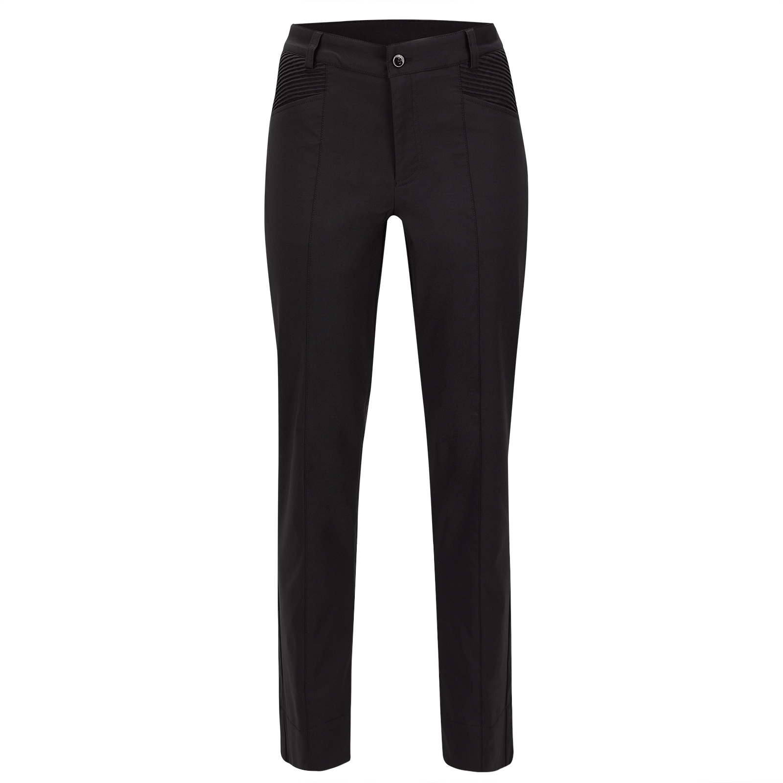 Ladies' 7/8 stretch golf trousers with Cold Protection in slim fit
