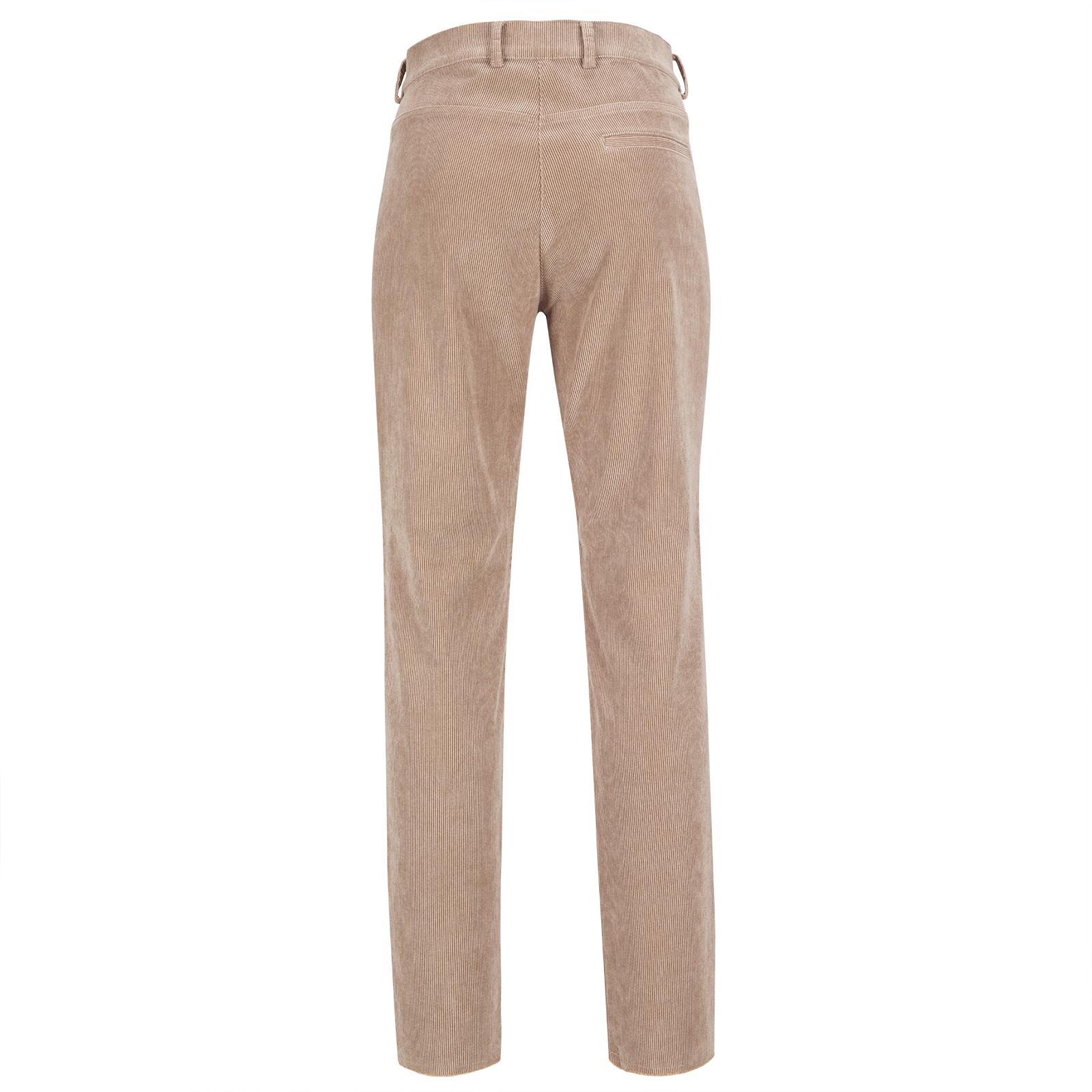 Damen 7/8 Slim-Fit Designer-Cord Golfhose aus weicher Cotton-Blend