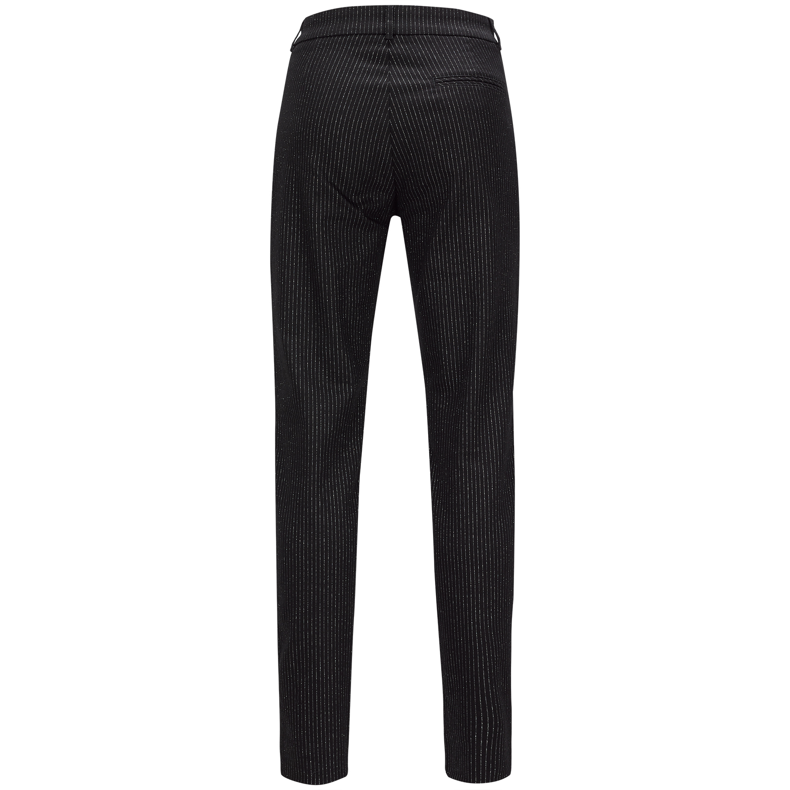 Damen 7/8 Slim-Fit Stretch-Golfhose mit glänzendem Streifen-Design