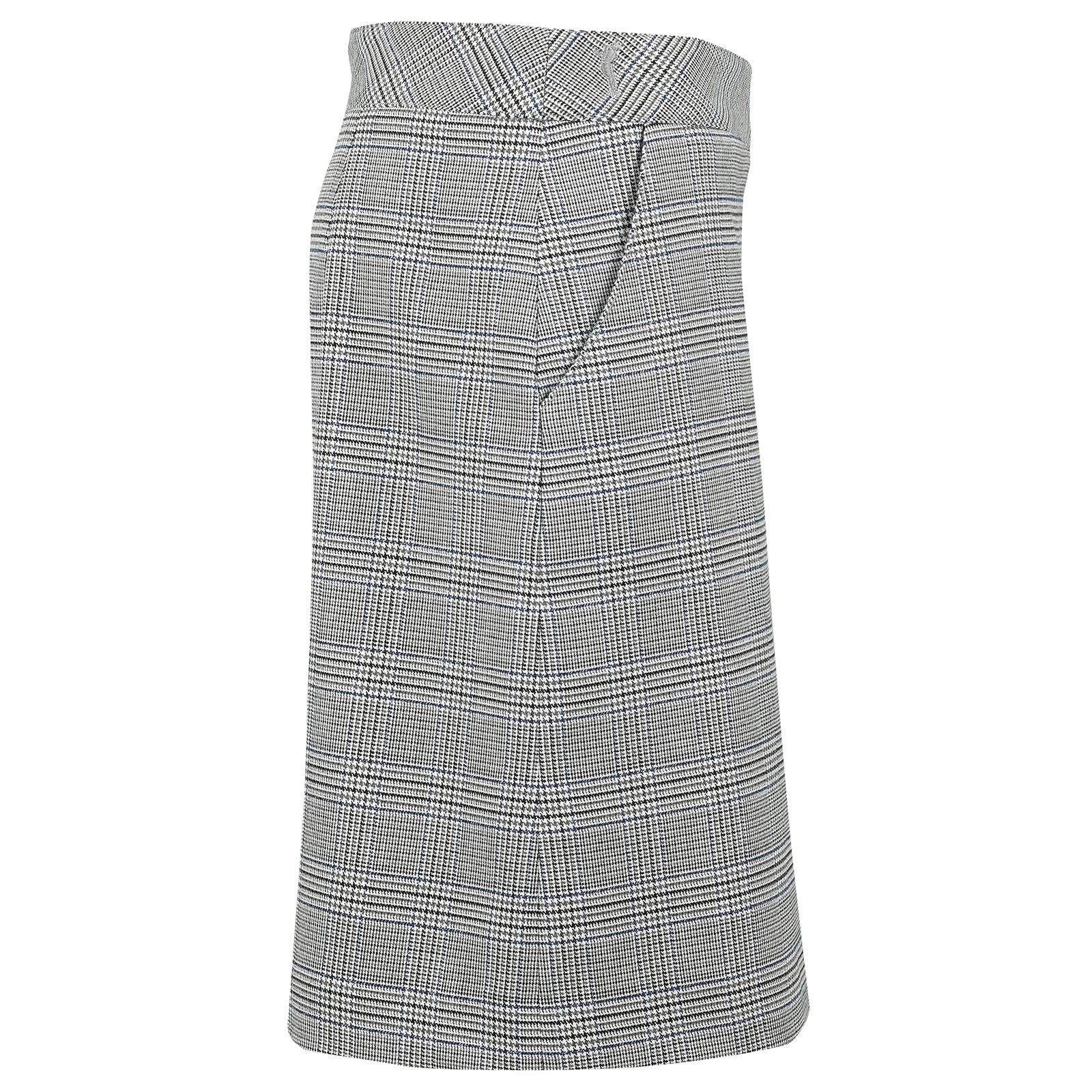 Eleganter Damen Stretch-Golfskort mit eingearbeiteten Shorts