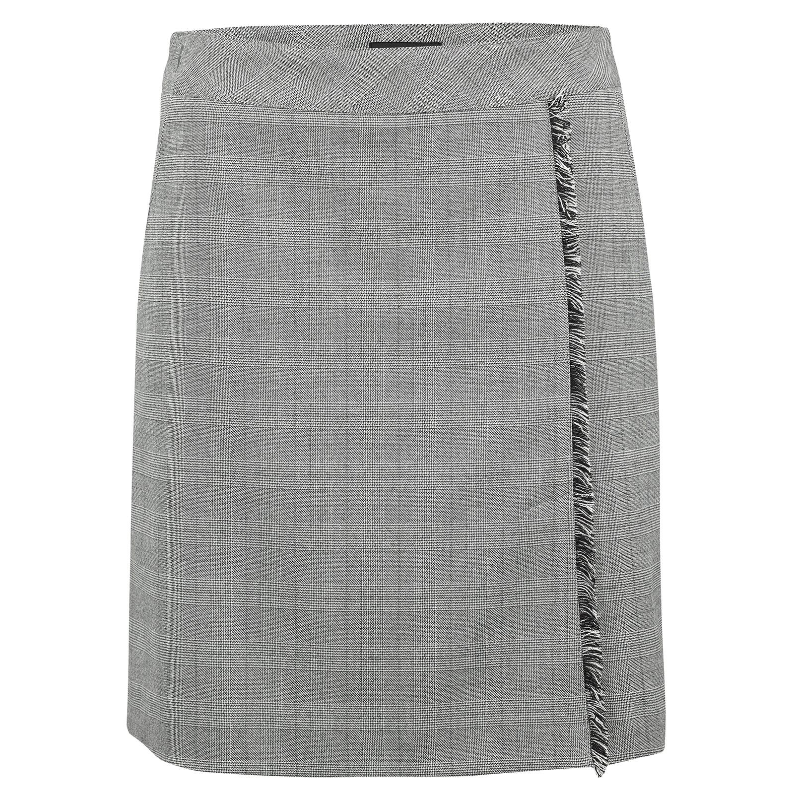 Damen Golfskort aus exklusivem Stretchmaterial mit eingearbeiteten Shorts