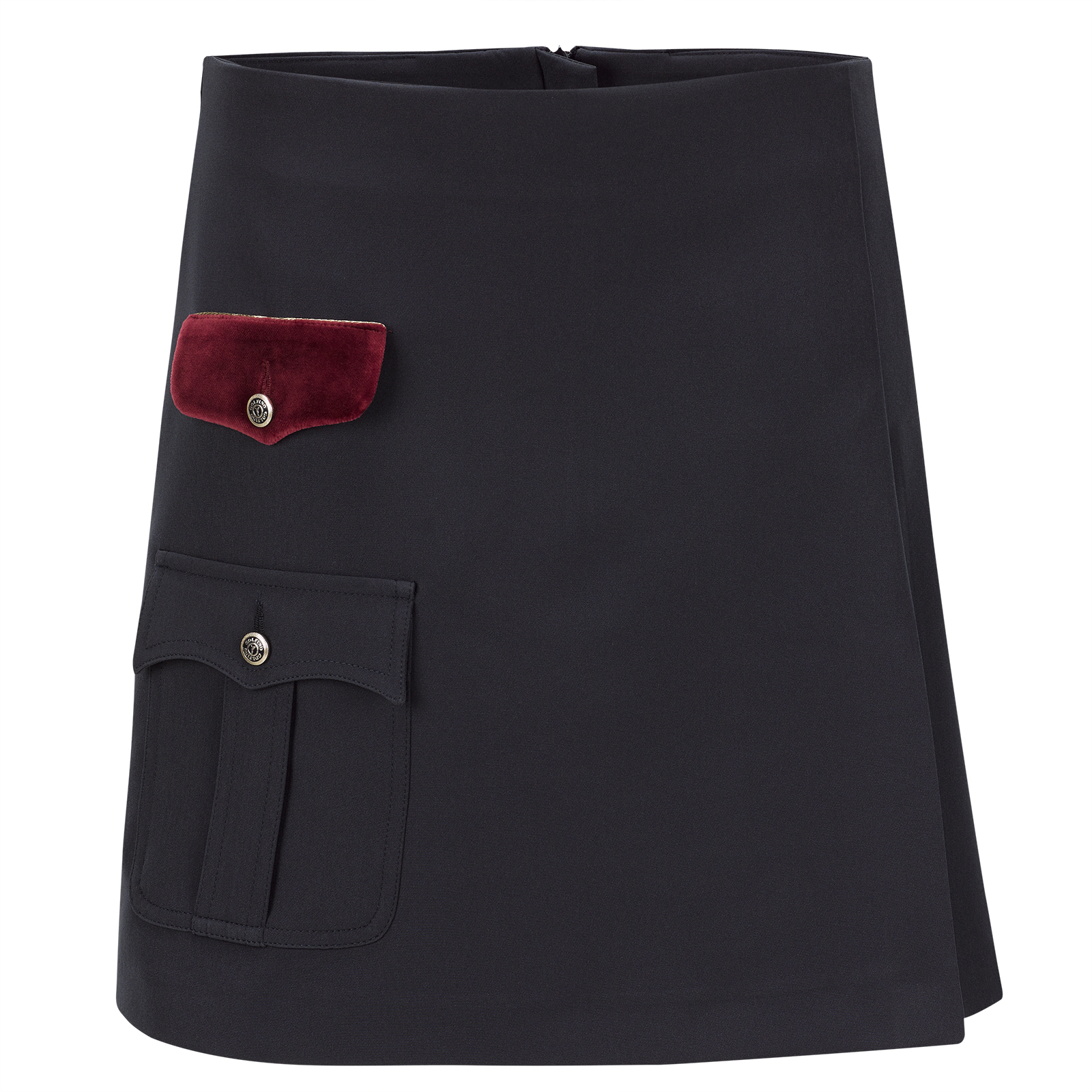 Ladies' premium golf skort from ultra-soft stretch material