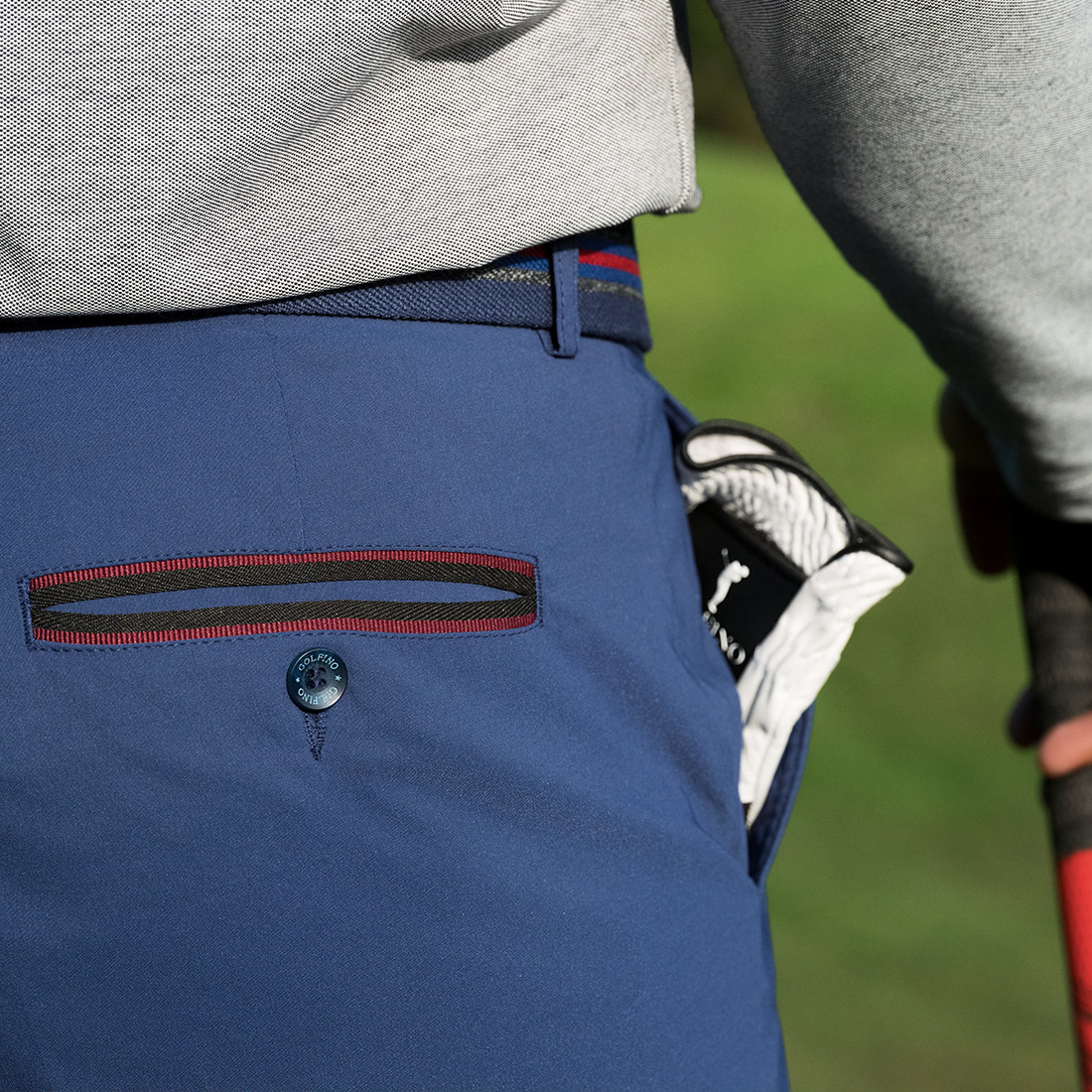 Herren Techno Stretch Golfhose mit Cold Protection Funktion