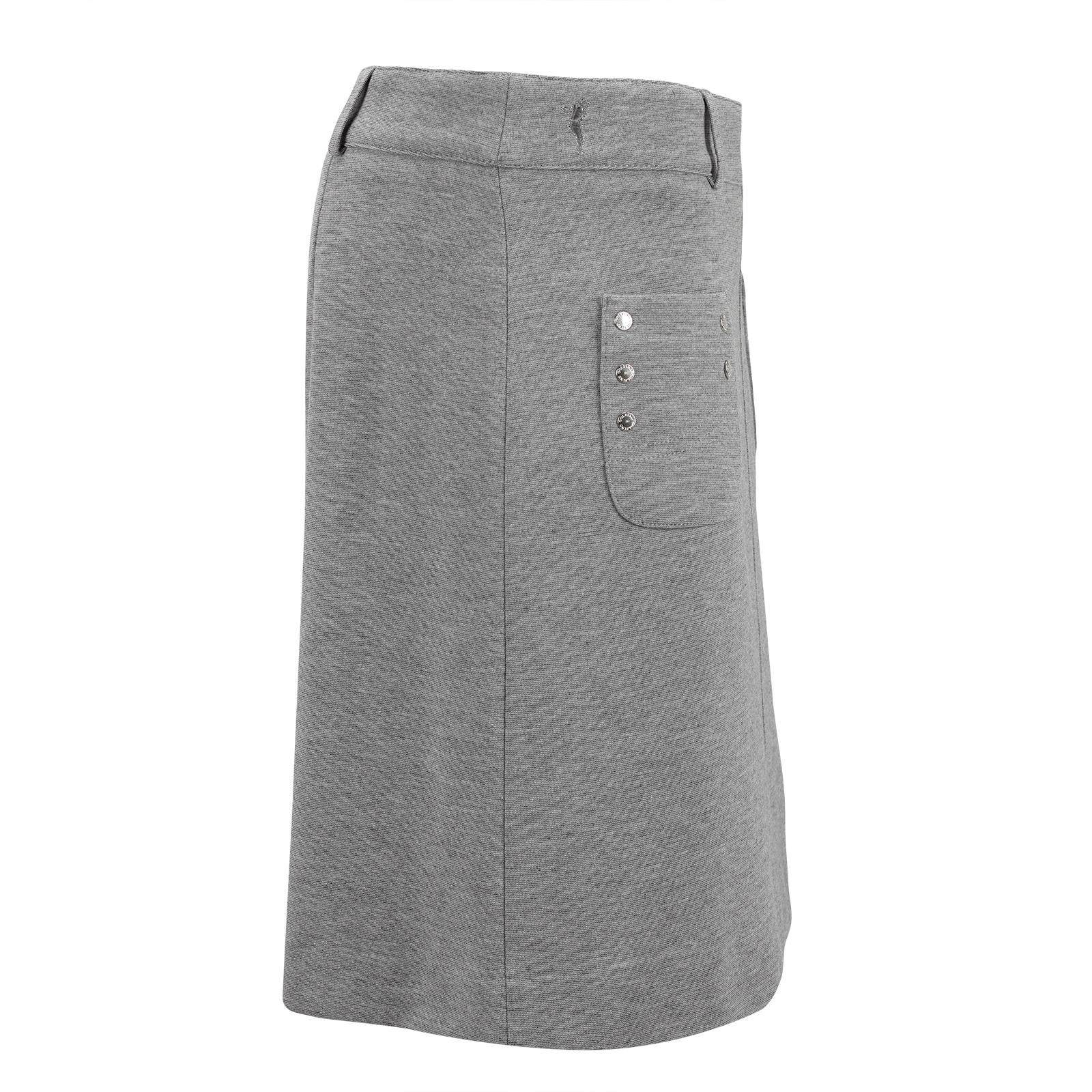Mittellanger Damen Golfskort mit Nietenverzierten Taschen