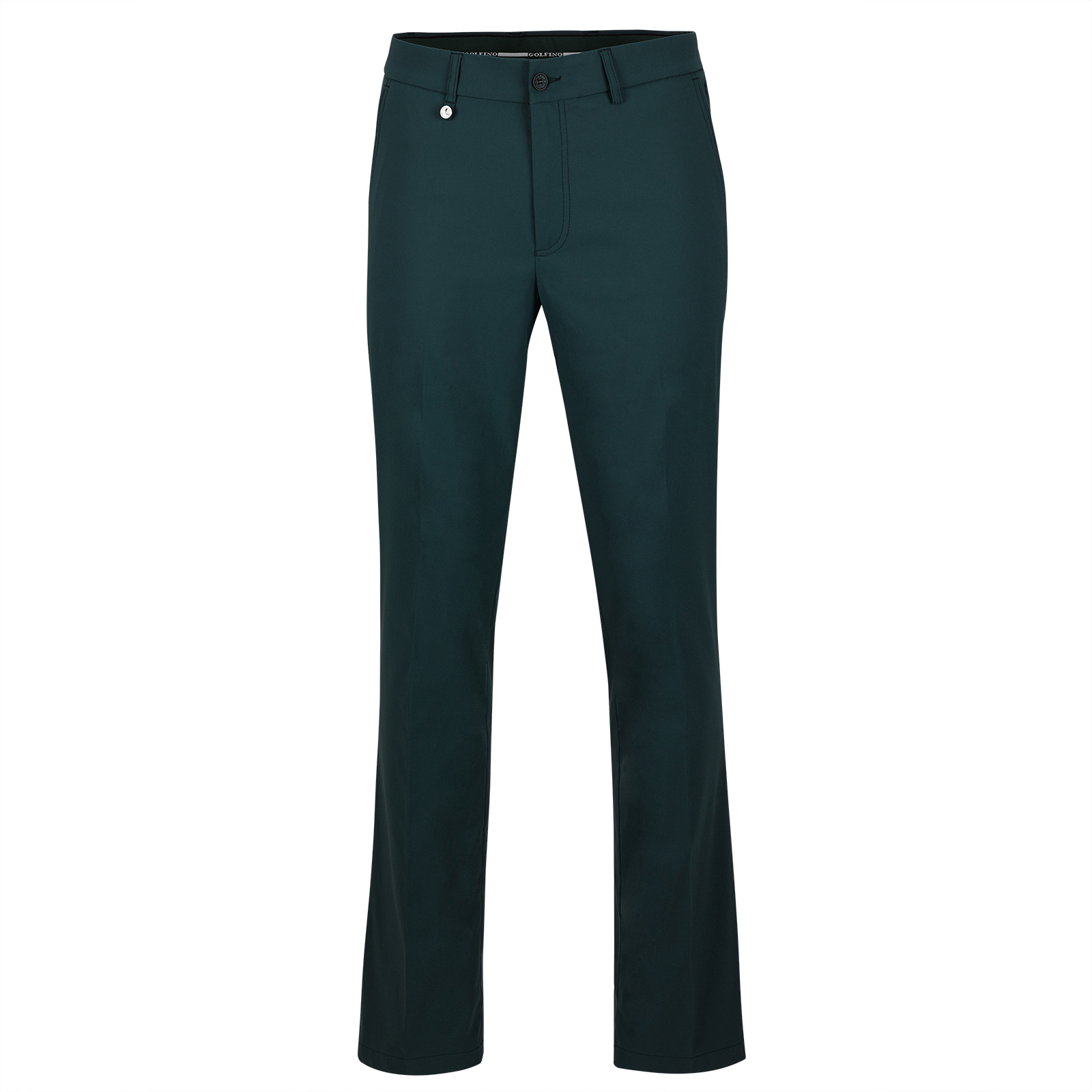 Men's techno stretch golf trousers with Cold Protection function in regular fit