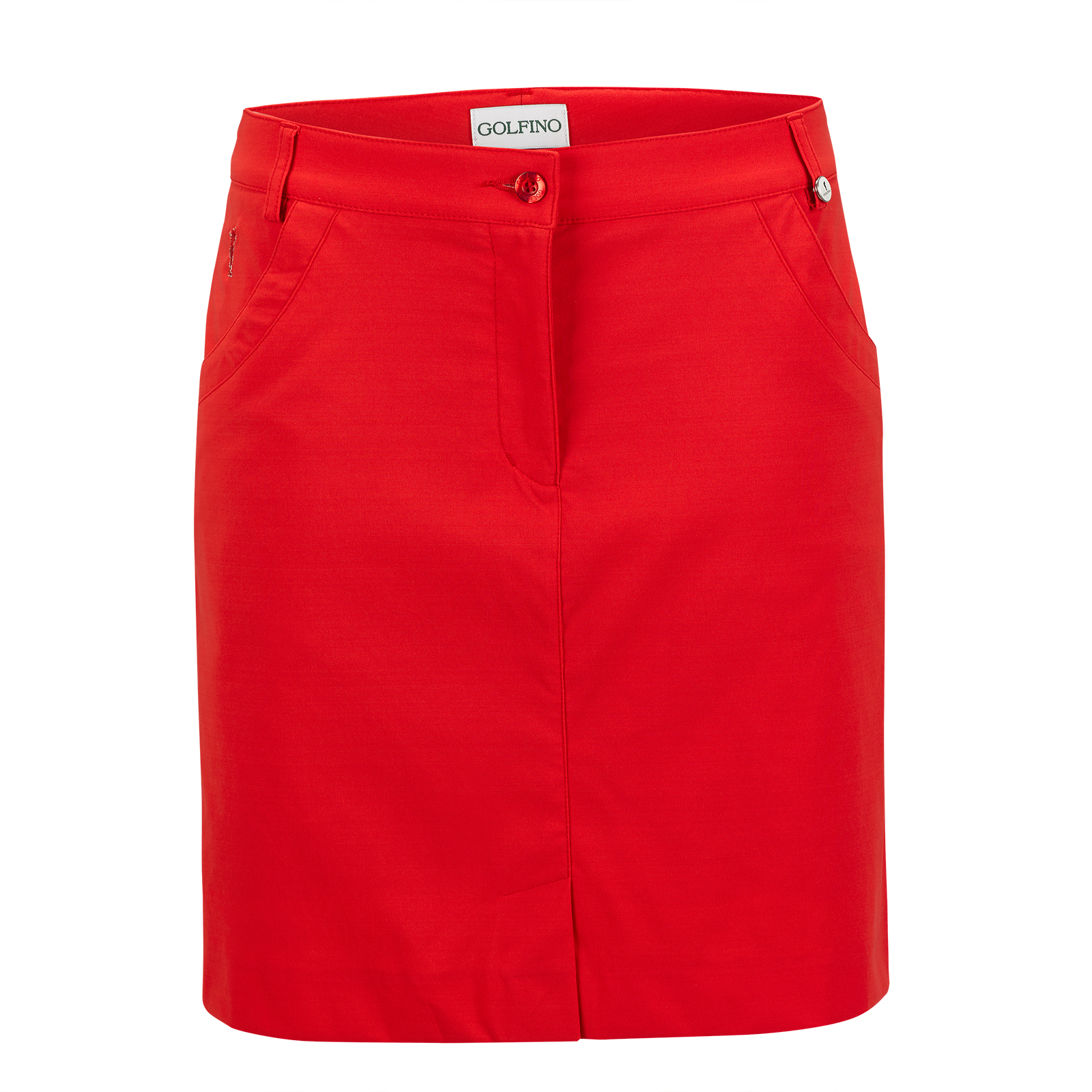 Damen Medium Golfskort aus Techno-Stretch mit Sun Protection