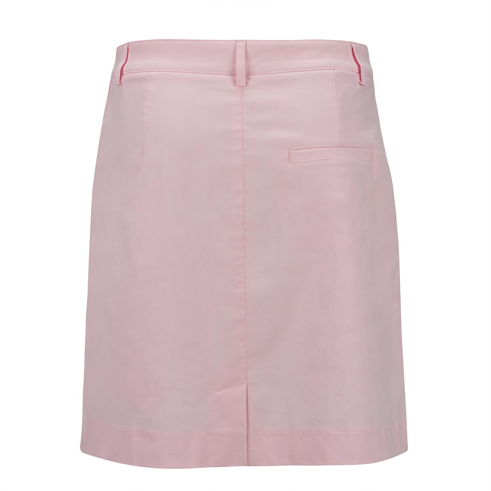 Cotton-Blend Damen Medium Golfskort mit innenliegenden Shorts