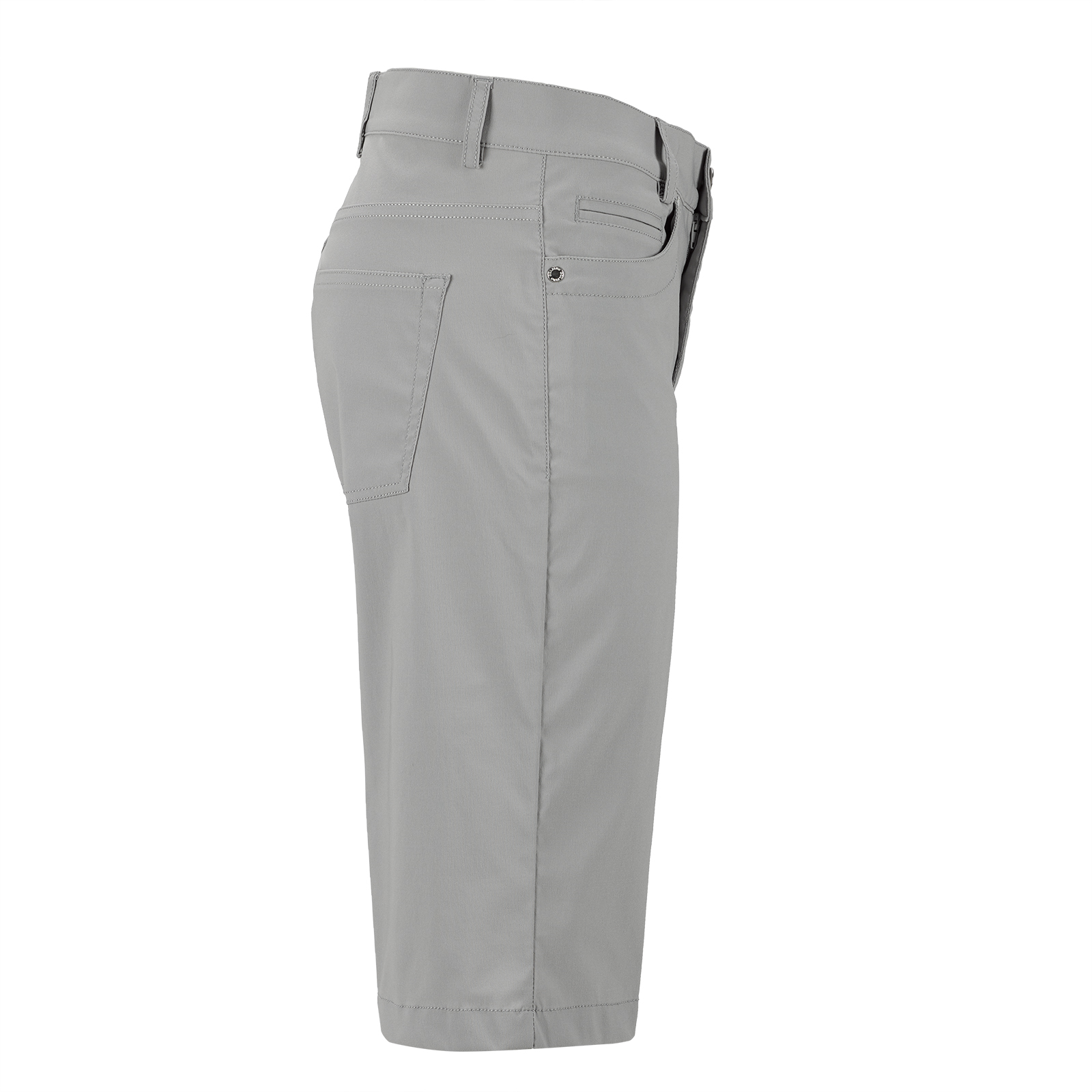 5-Pocket Damen Stretch-Golfbermuda mit UV-Schutz in Slim Fit