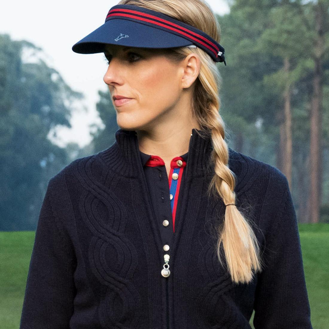 Damen Golf Cable Visor für einen sportlich eleganten Style auf dem Grün