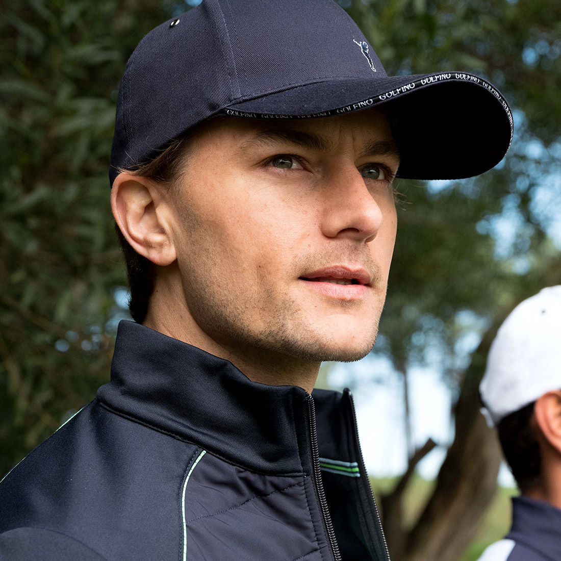 Herren Baumwoll Golfcap Onesize