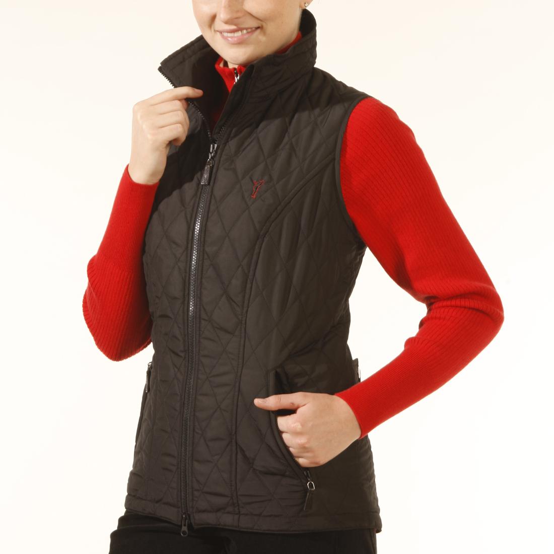 Microfibre waistcoat