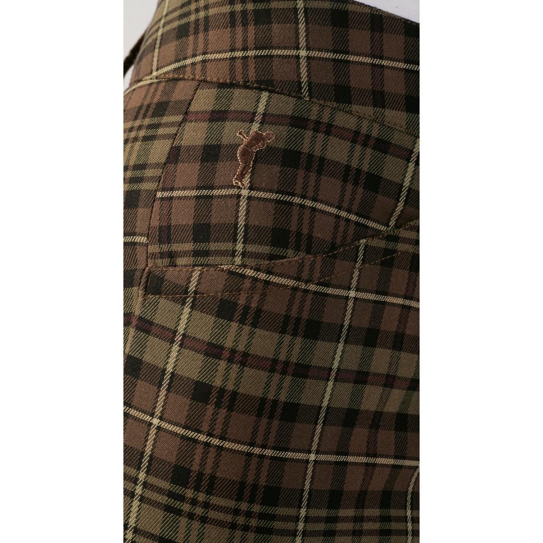 Damen Hose aus exklusivem Karostoff