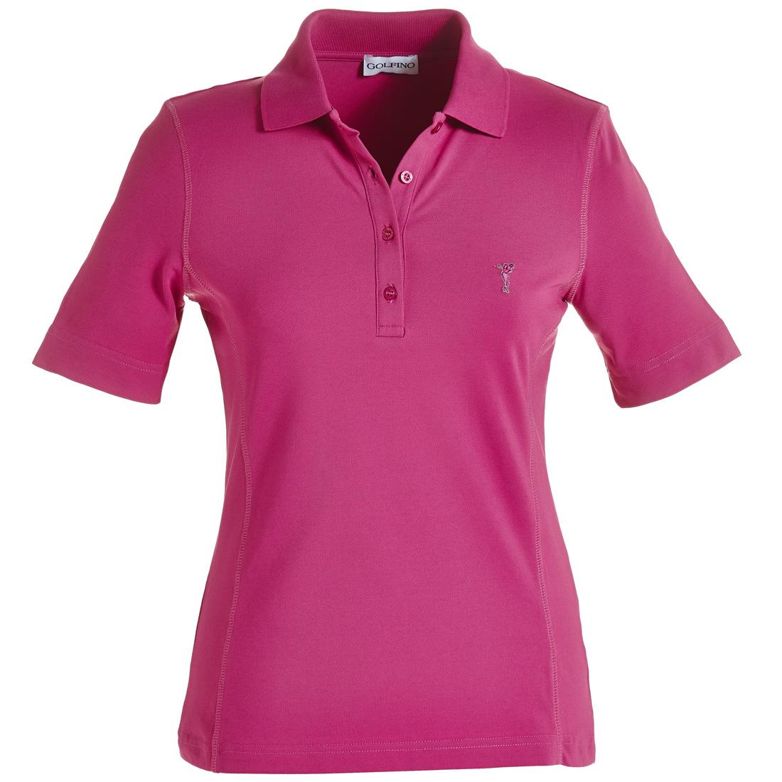 Damen Piqué Poloshirt mit UV-Schutz