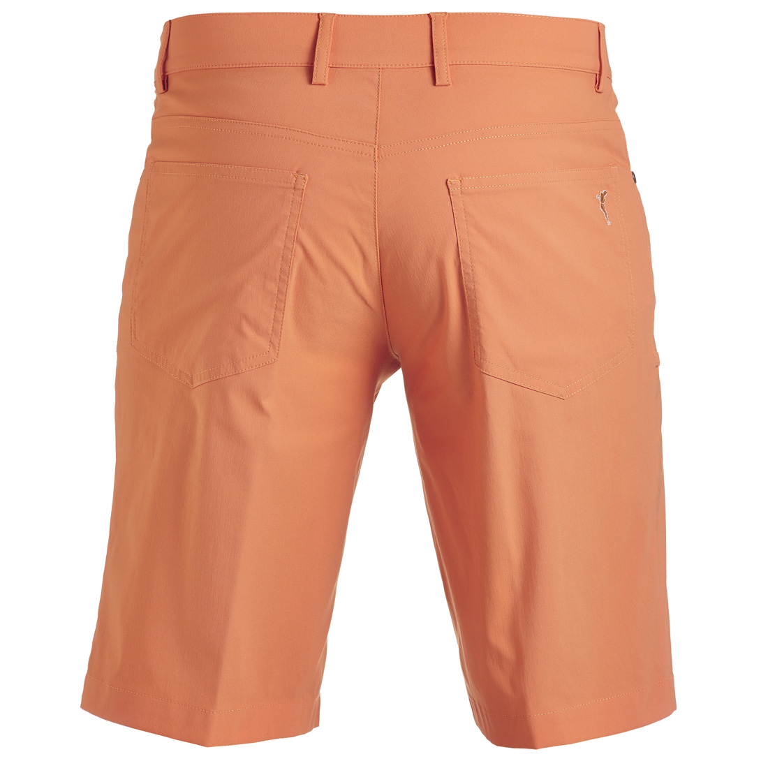 5-Pocket Techno Stretch Bermuda Dusty Orange