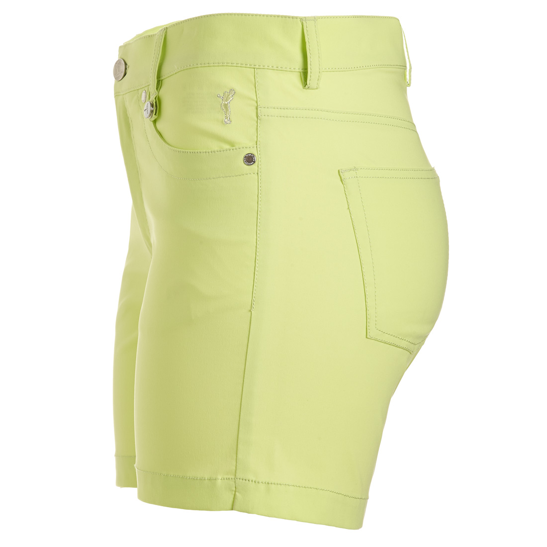 Damen 5-Pocket Techno Stretch Shorts