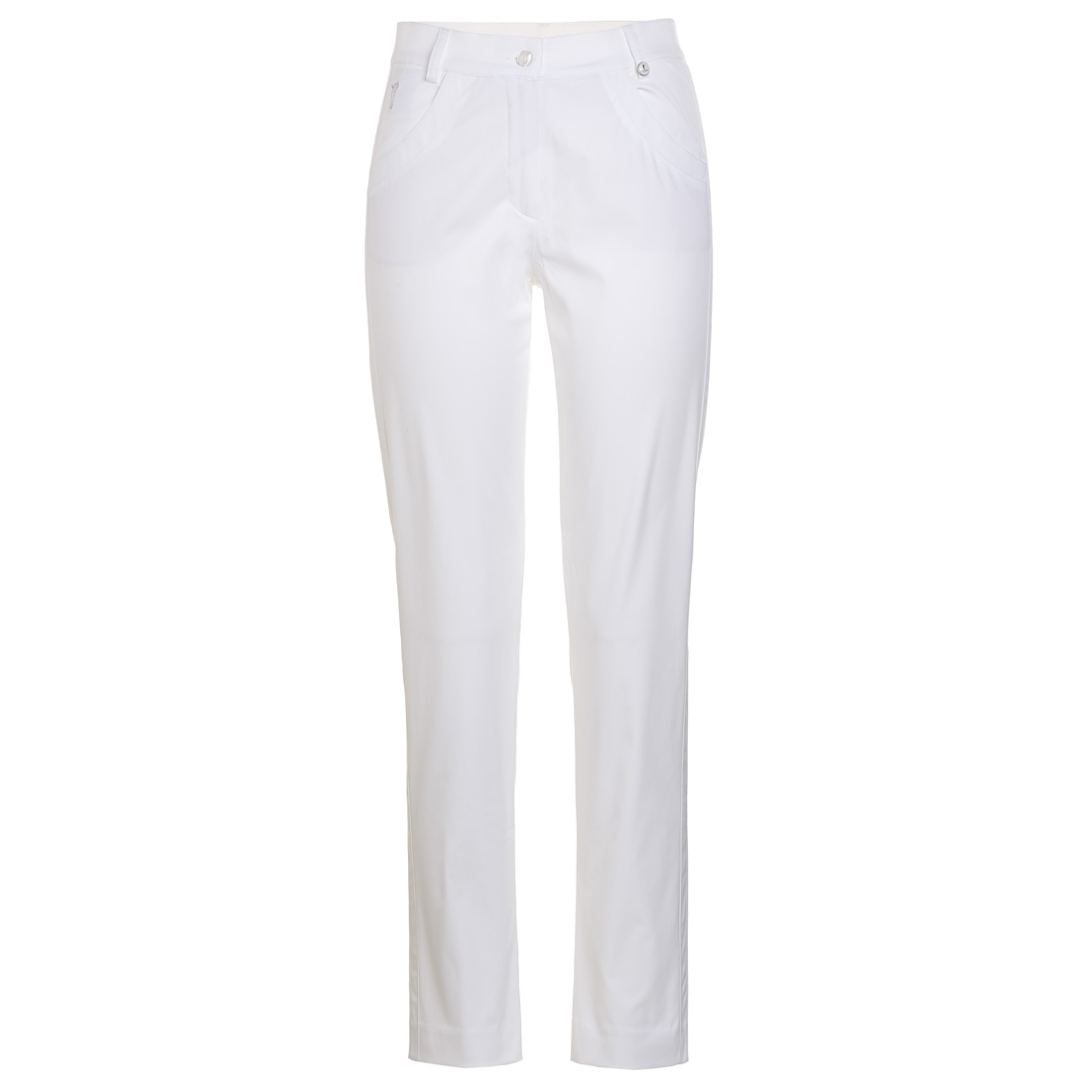Glänzende Damen Techno Stretch Hose