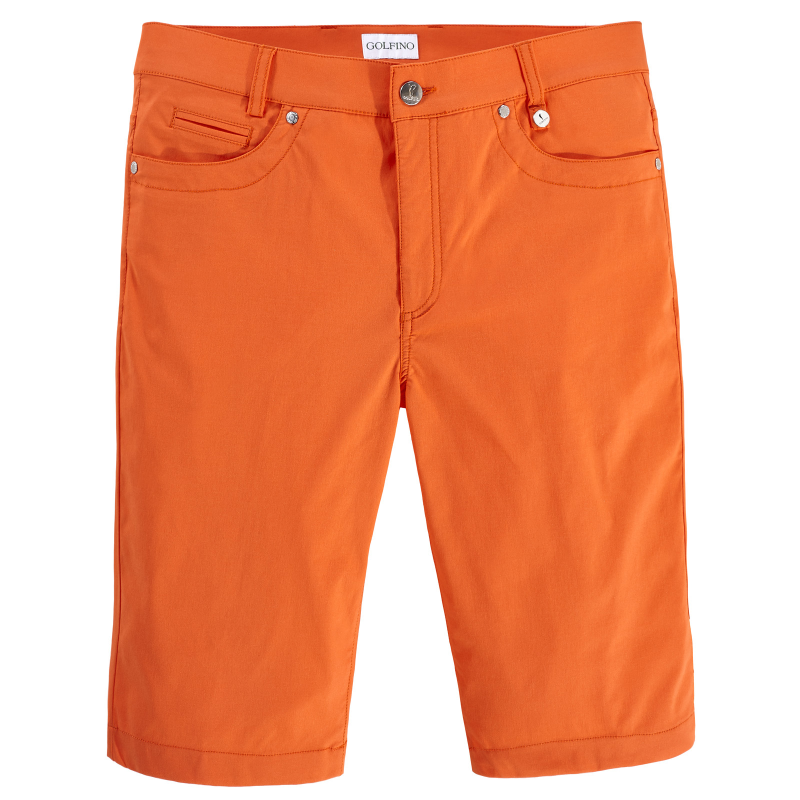 Golfbermudas mit leichtem Stretch-Element