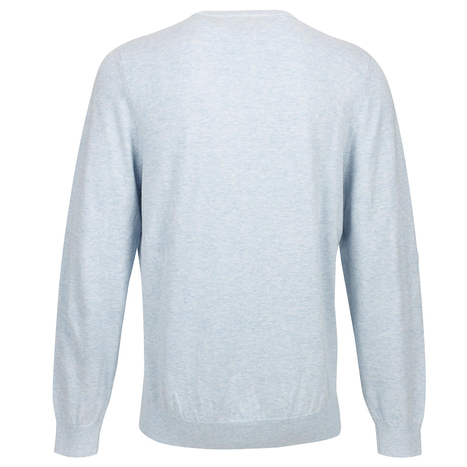 Herren Strickpullover mit V-Ausschnitt aus besonders weicher Baumwolle