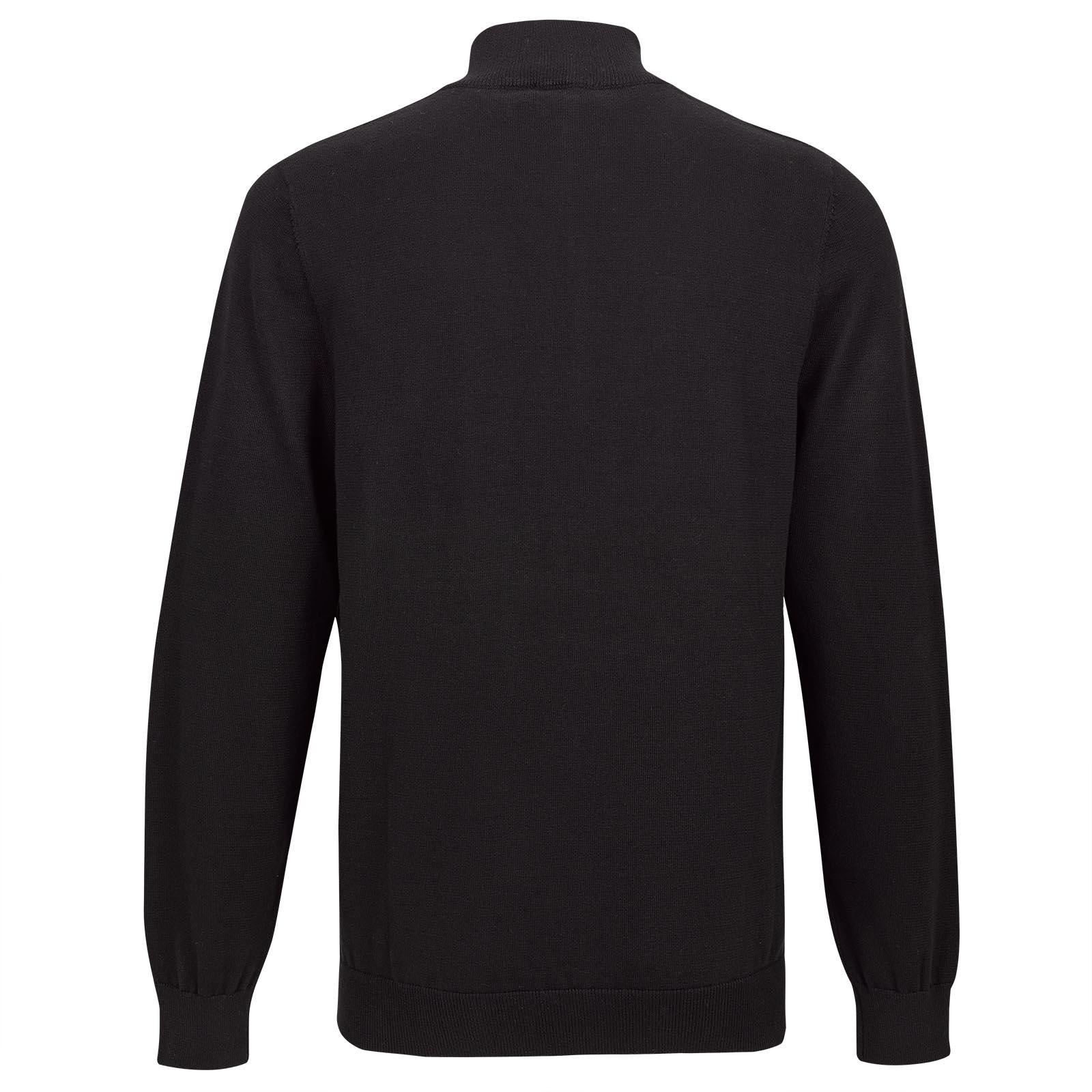 Klassisch eleganter Herren Golf-Cardigan aus super weicher Baumwolle