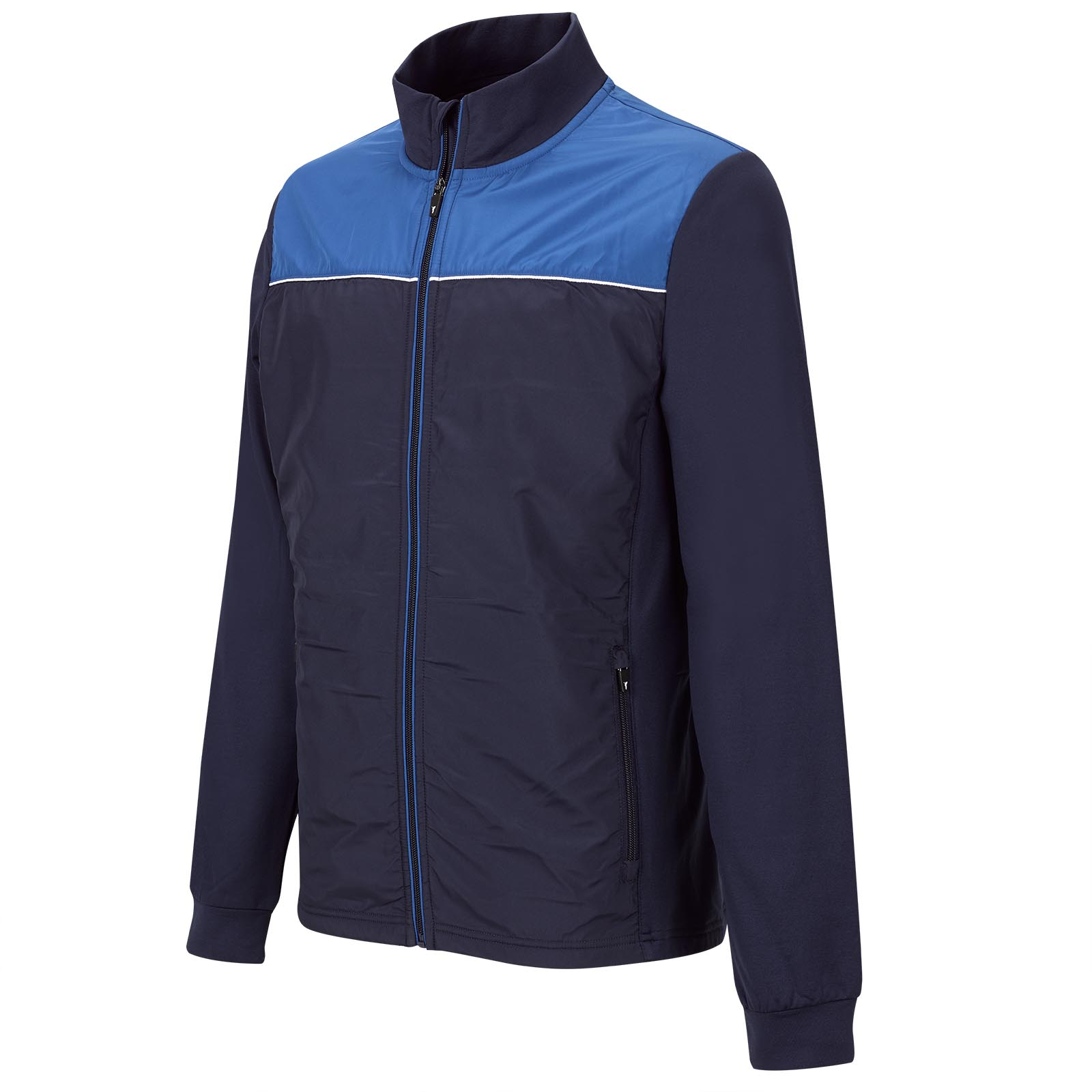 Leichte Herren Golf Performance Stretchjacke im Pro Look